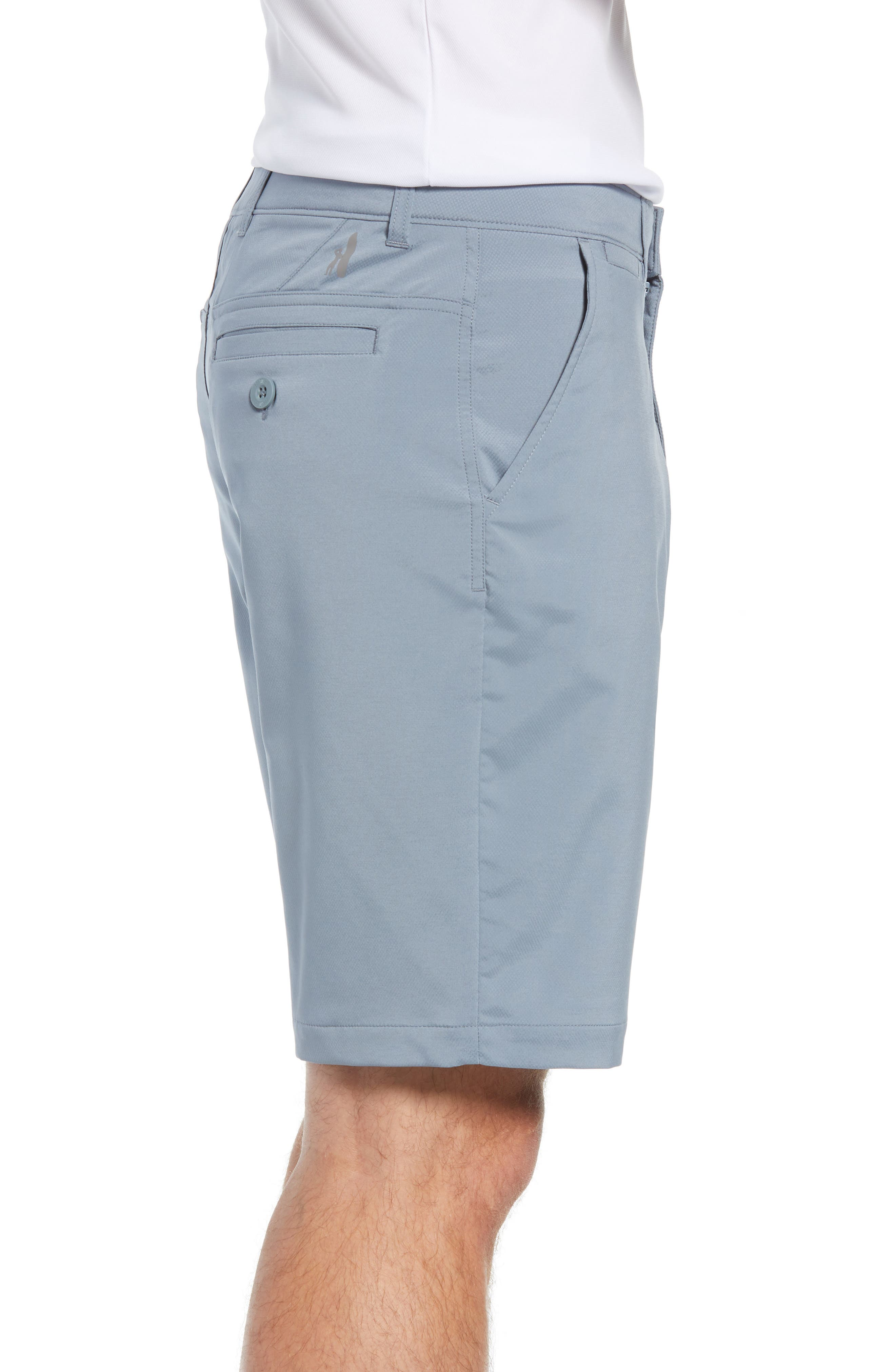Mulligan Regular Fit Prep-Formance Shorts,                             Alternate thumbnail 3, color,                             CLOUDBREAK