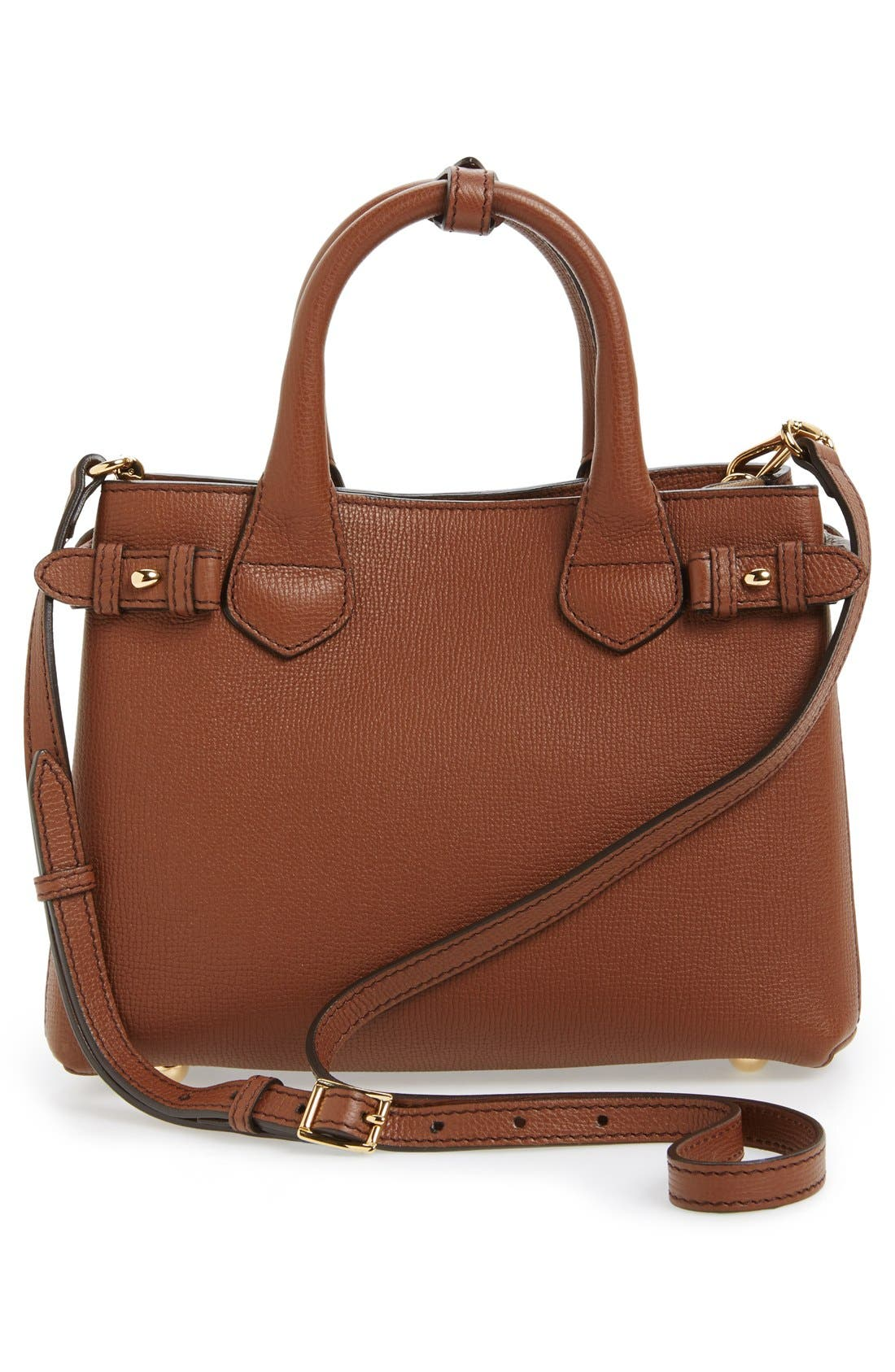 'Small Banner' Leather Tote,                             Alternate thumbnail 11, color,