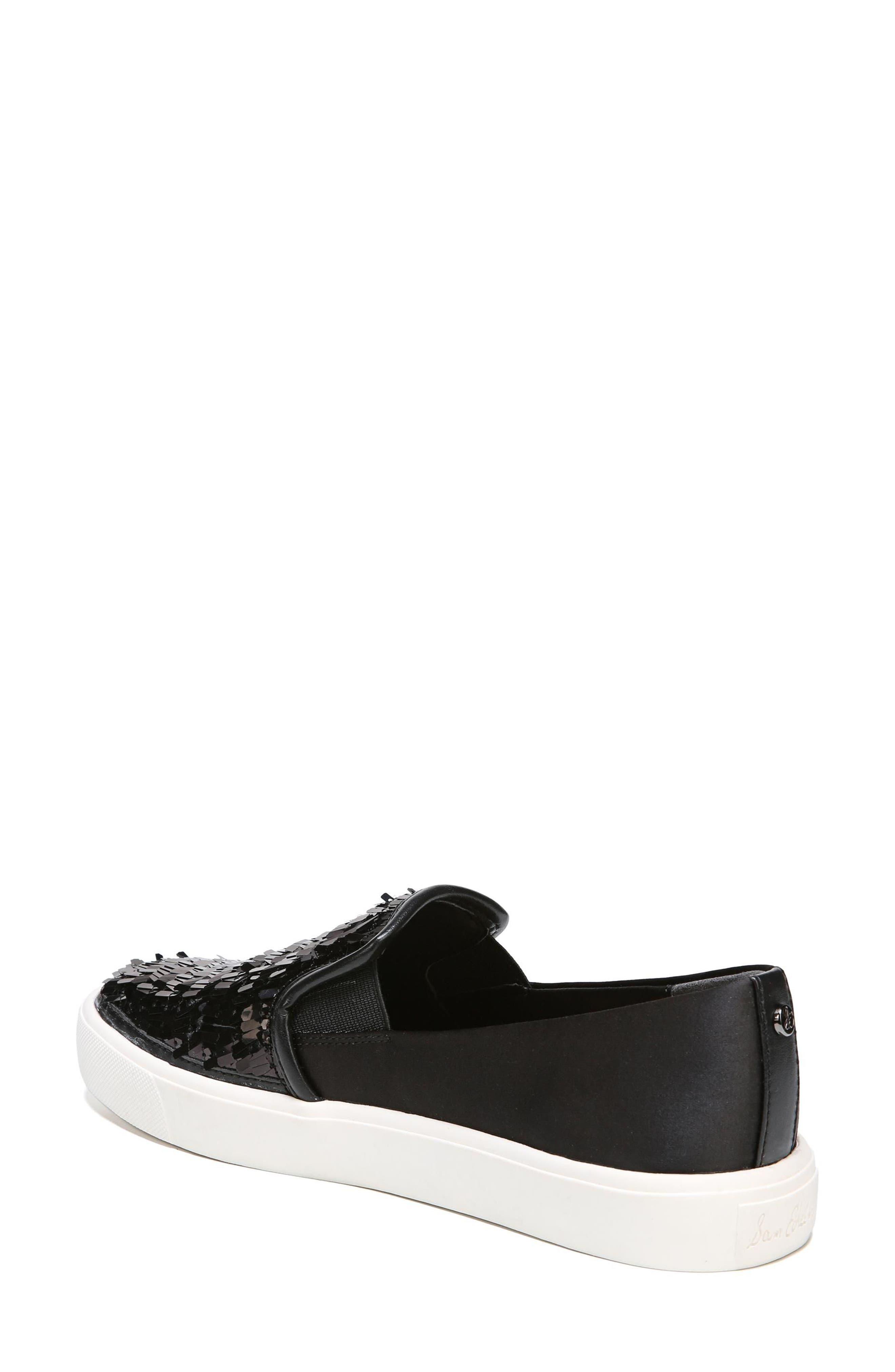 SAM EDELMAN,                             Elton Slip-On Sneaker,                             Alternate thumbnail 2, color,                             002