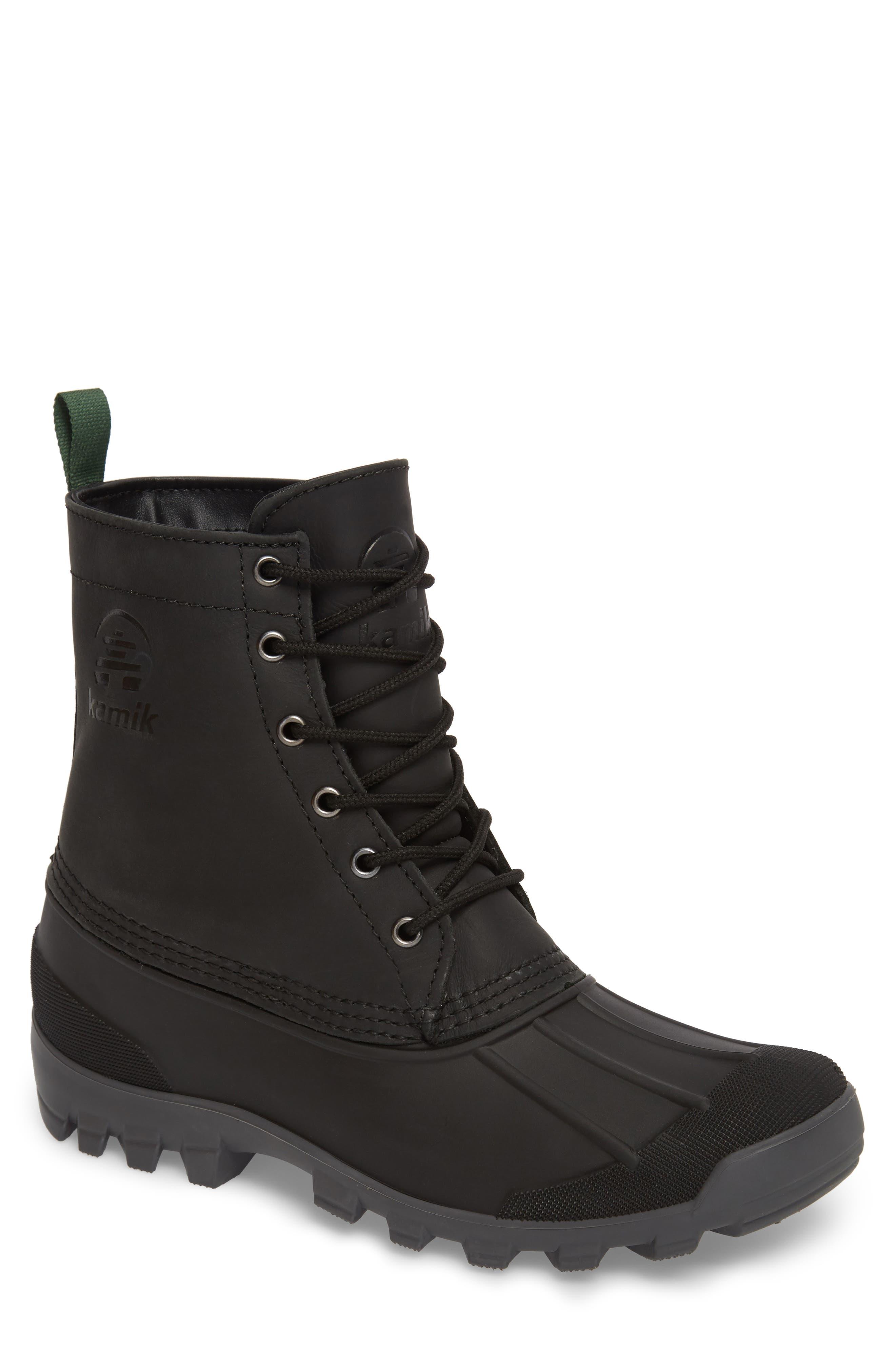 Yukon 6 Waterproof Insulated Three-Season Boot,                         Main,                         color, 001