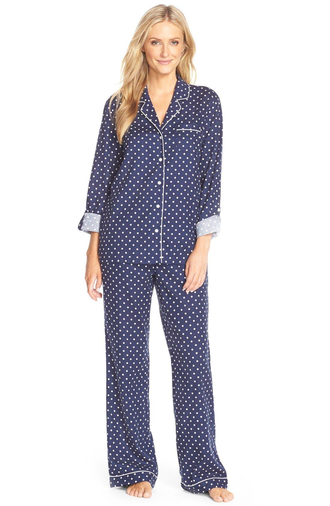 Cotton Twill Pajamas,                             Main thumbnail 5, color,