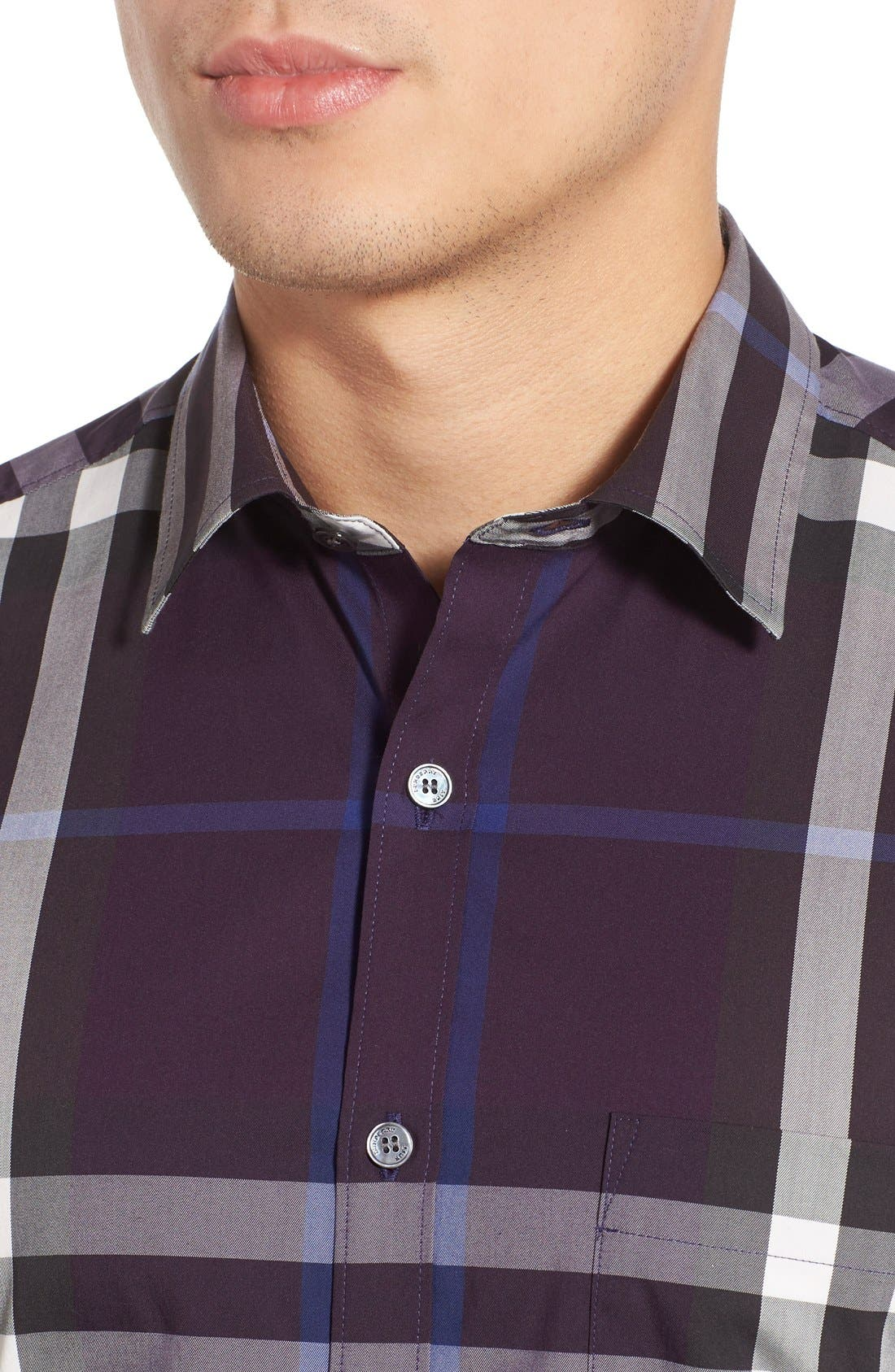 Nelson Check Sport Shirt,                             Alternate thumbnail 91, color,