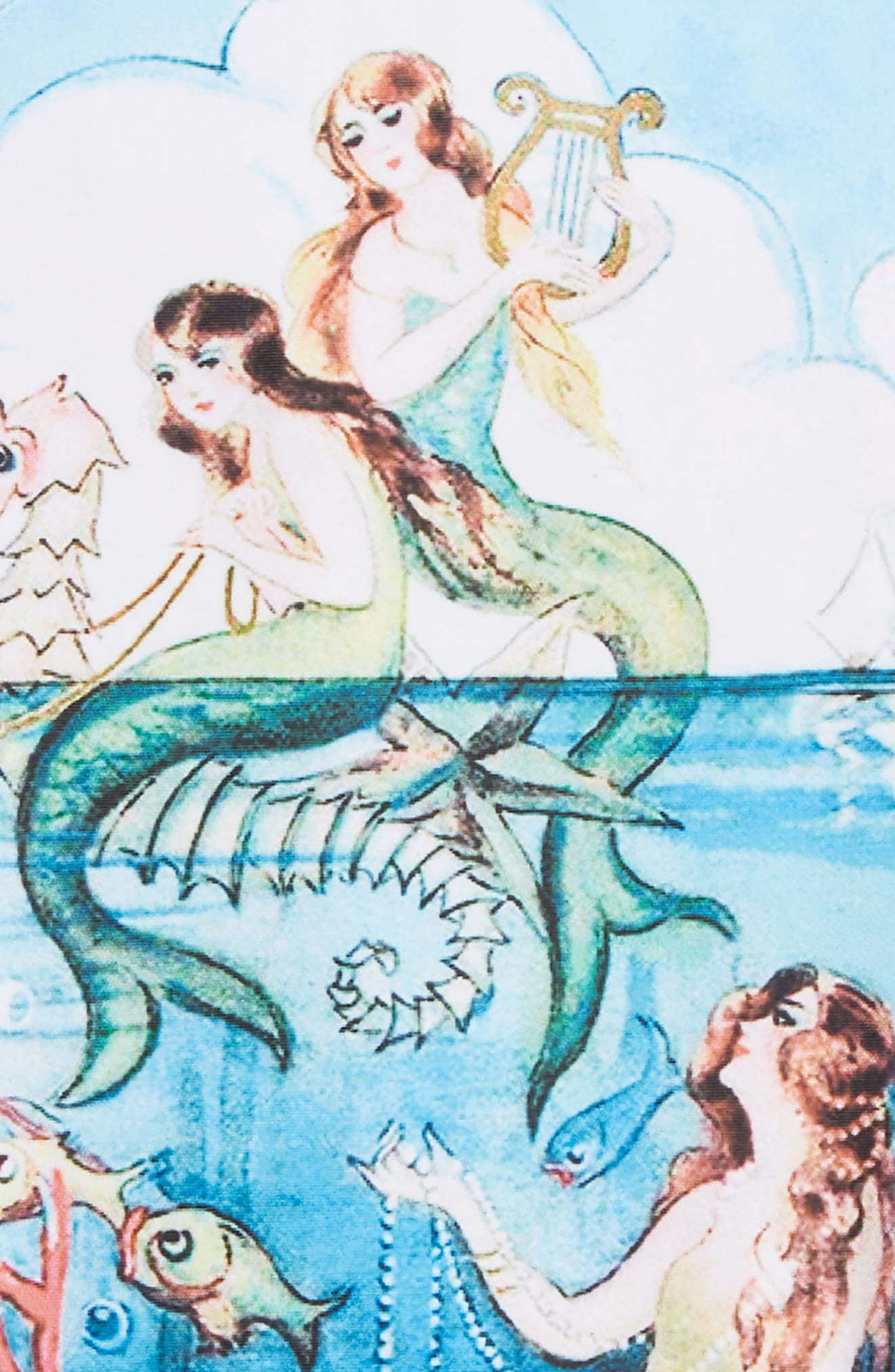 Little Mermaids One-Piece Swimsuit,                             Alternate thumbnail 2, color,                             400