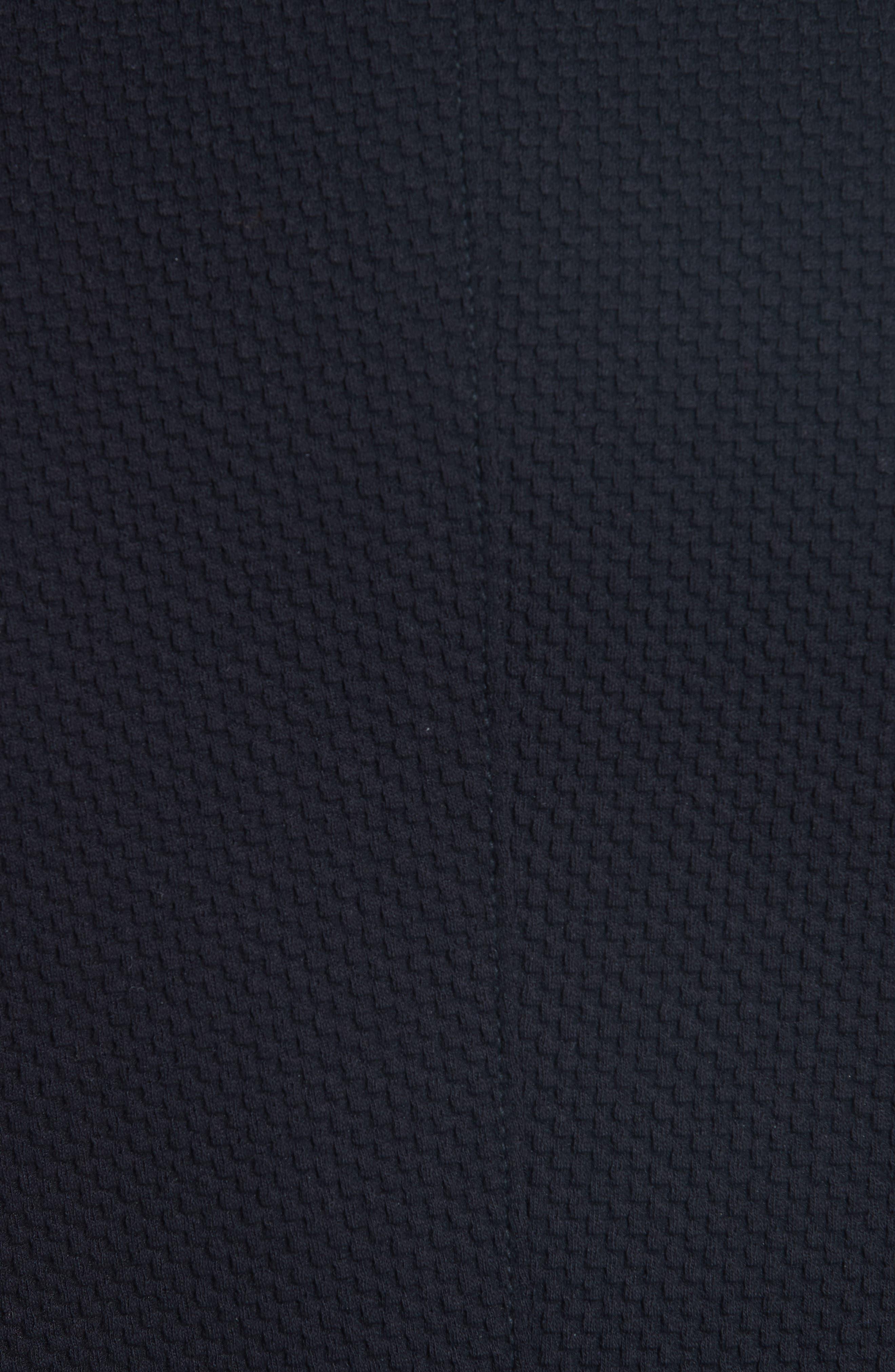 Slim Fit Stretch Cotton Blend Sport Coat,                             Alternate thumbnail 6, color,                             BLACK