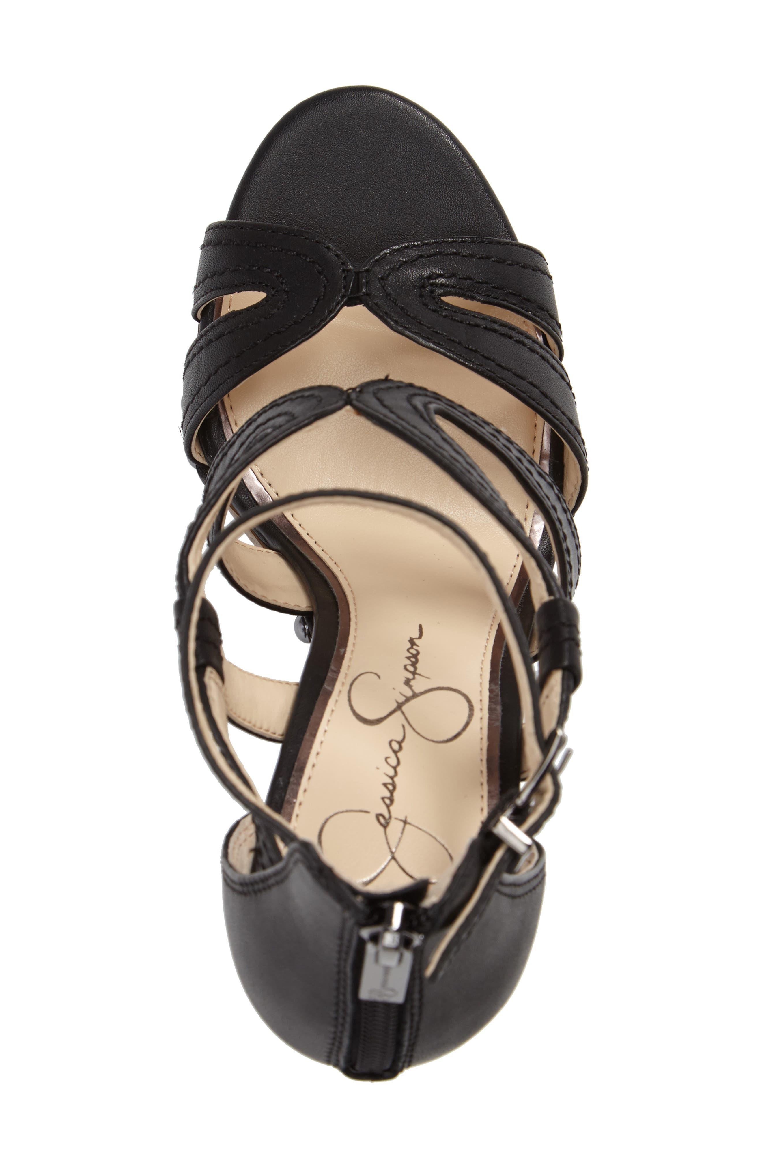 Dorrin Platform Sandal,                             Alternate thumbnail 3, color,                             002