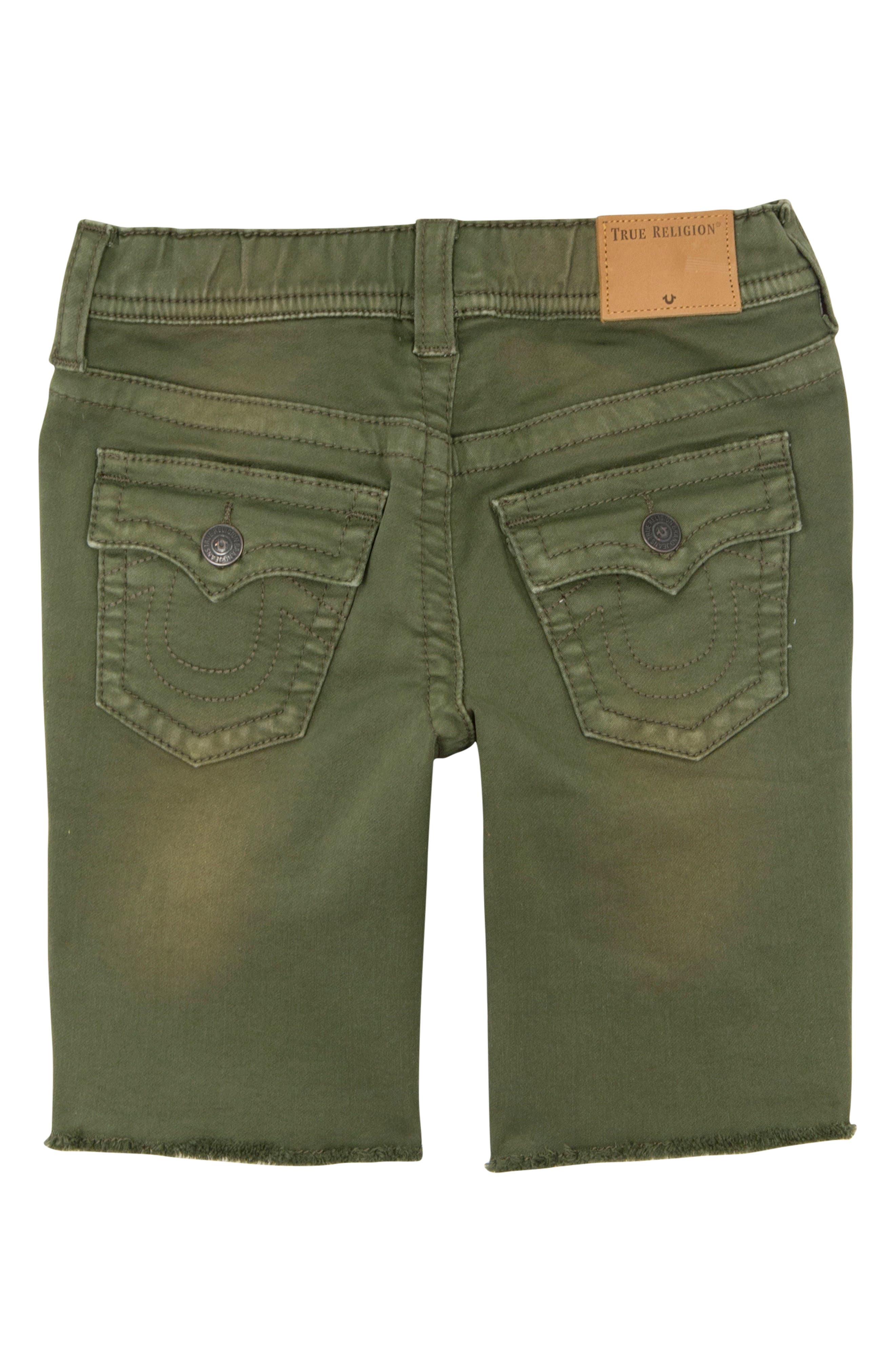 Geno French Terry Shorts,                             Alternate thumbnail 2, color,                             OLIVE