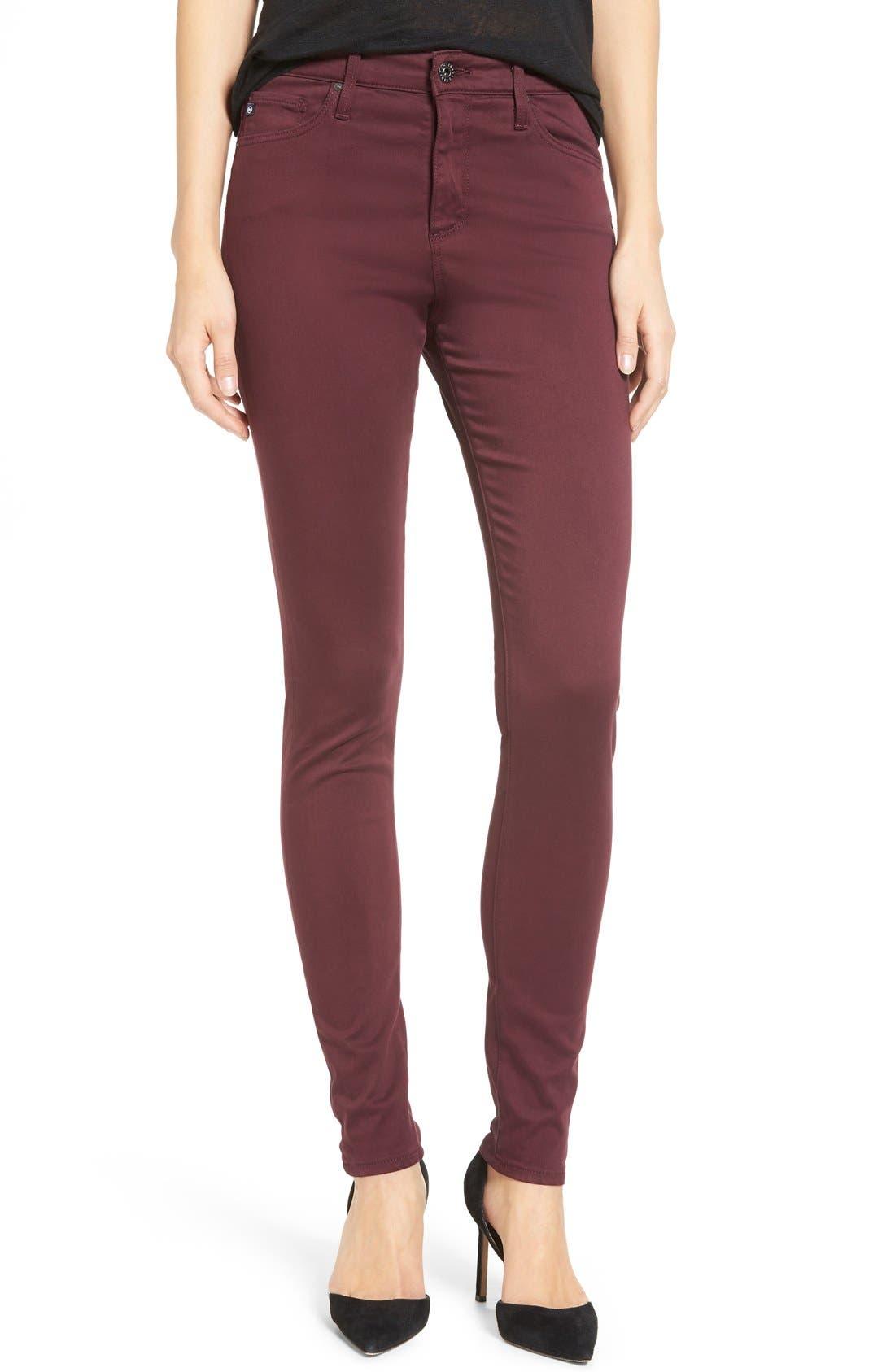 The Farrah High Rise Skinny Jeans,                             Main thumbnail 4, color,