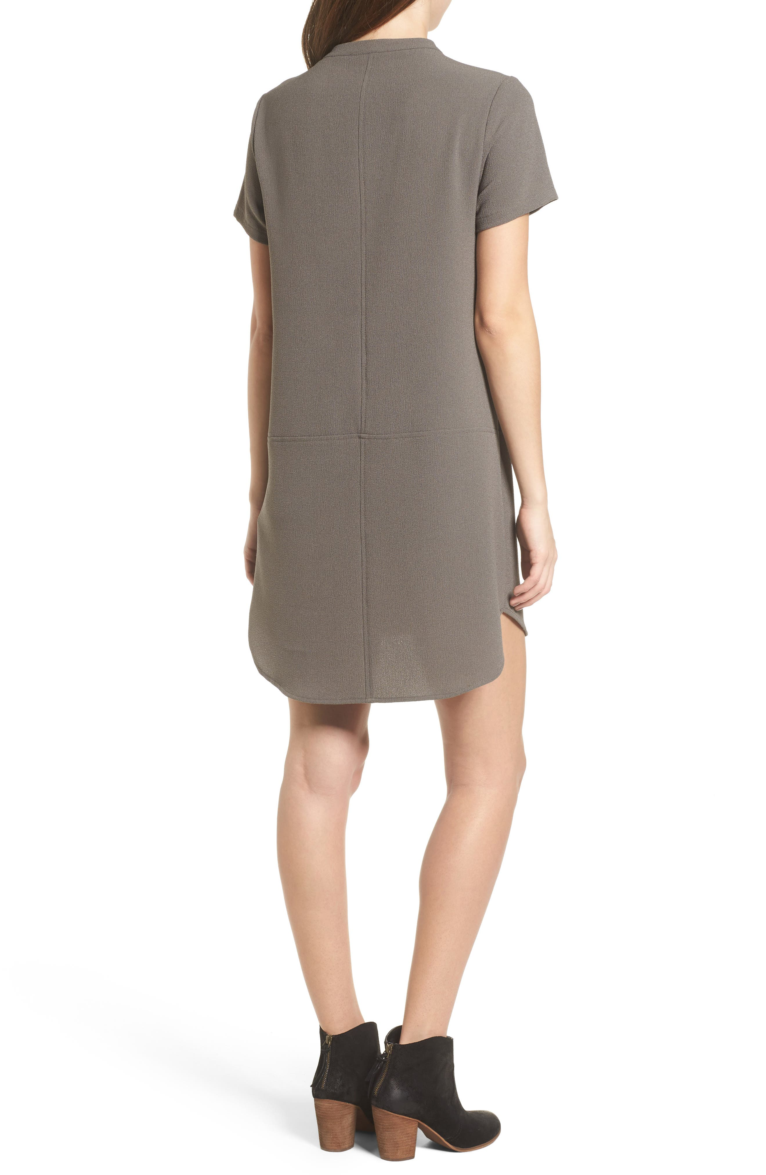 Hailey Crepe Dress,                             Alternate thumbnail 31, color,
