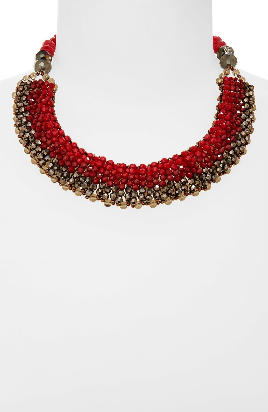 'Half Line Couture' Collar Necklace,                             Main thumbnail 3, color,