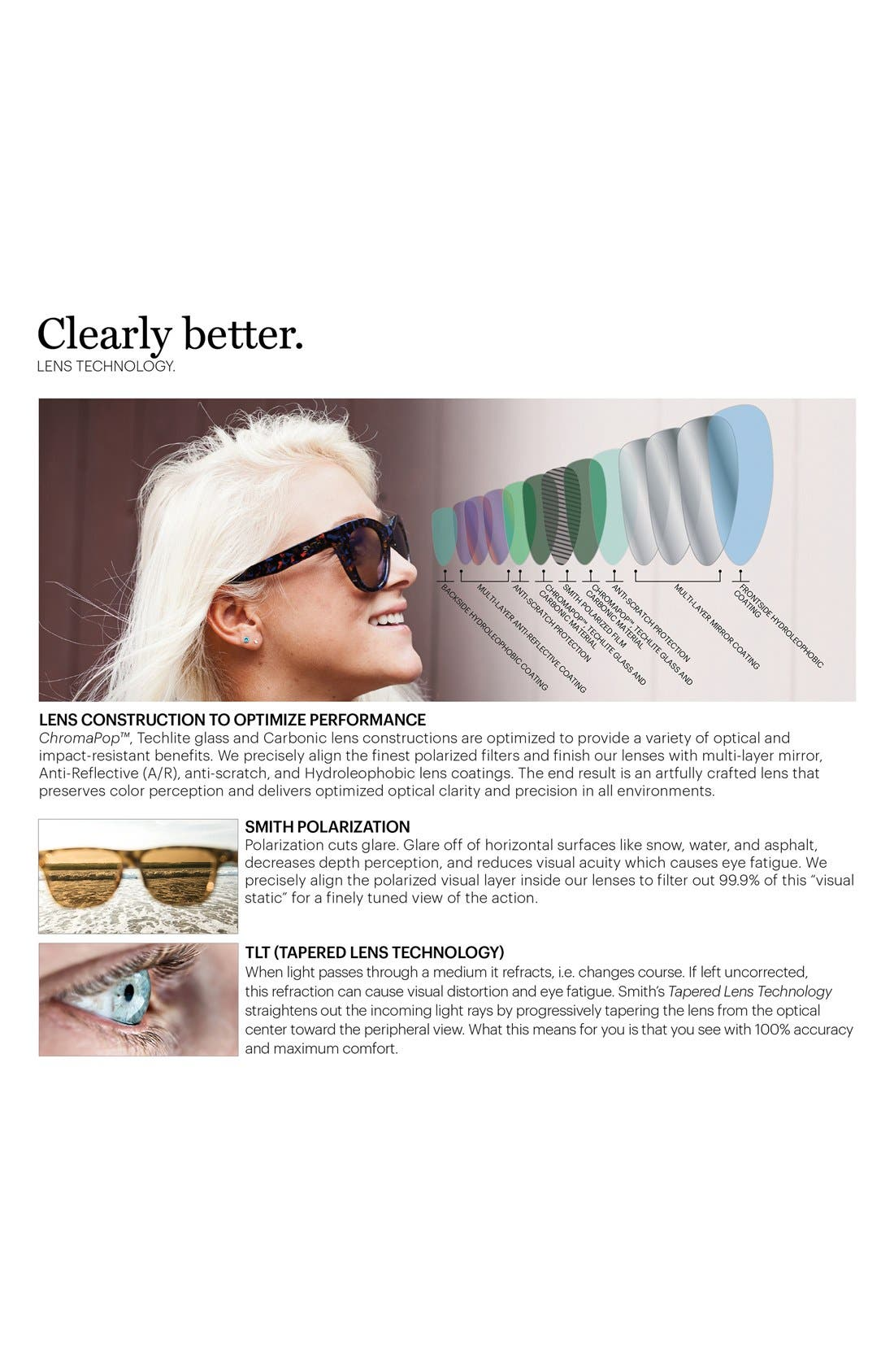 'Outlier XL' 56mm Polarized Sunglasses,                             Alternate thumbnail 2, color,                             001