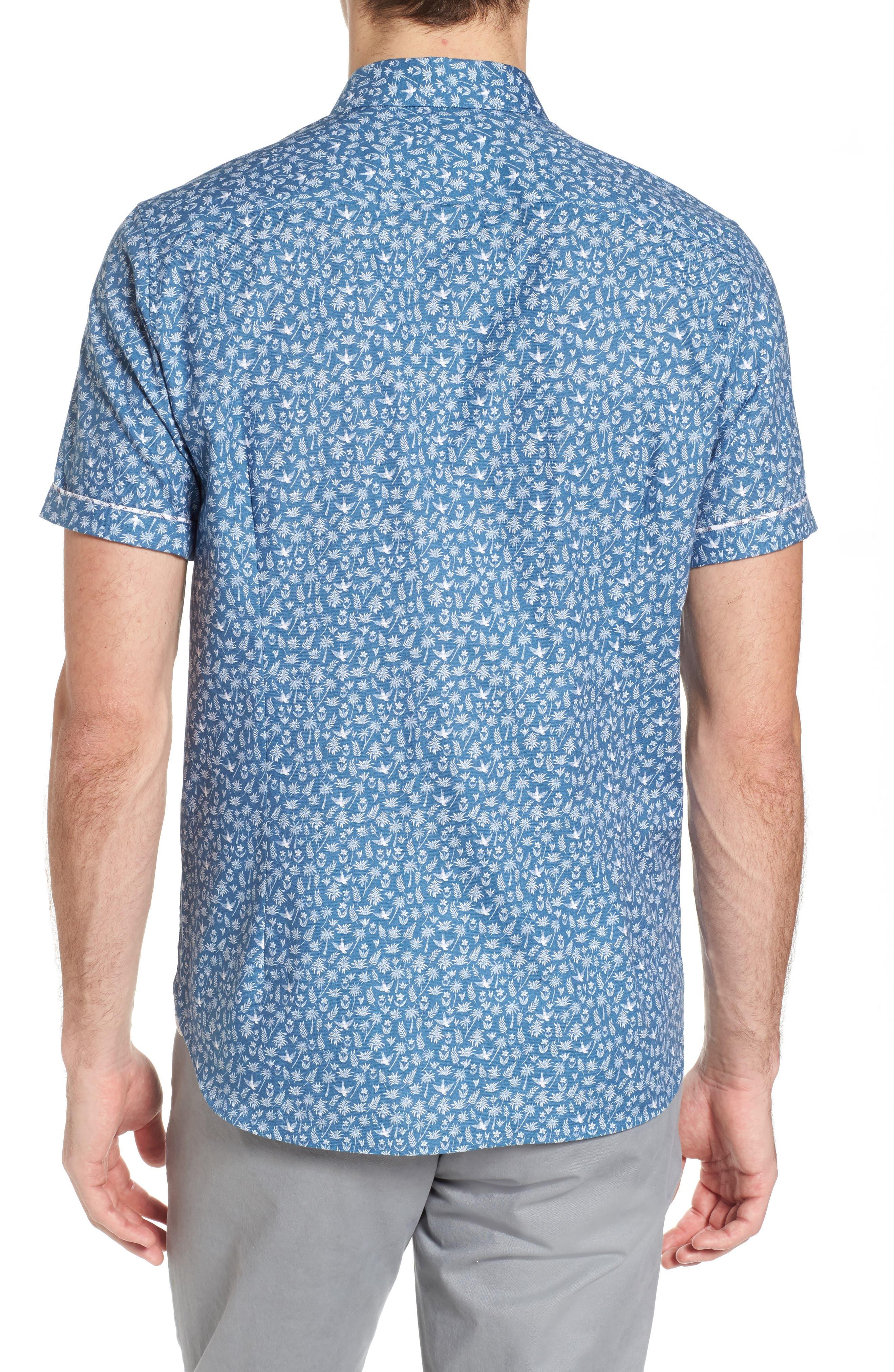 Pazta Tropic Print Shirt,                             Alternate thumbnail 2, color,                             400
