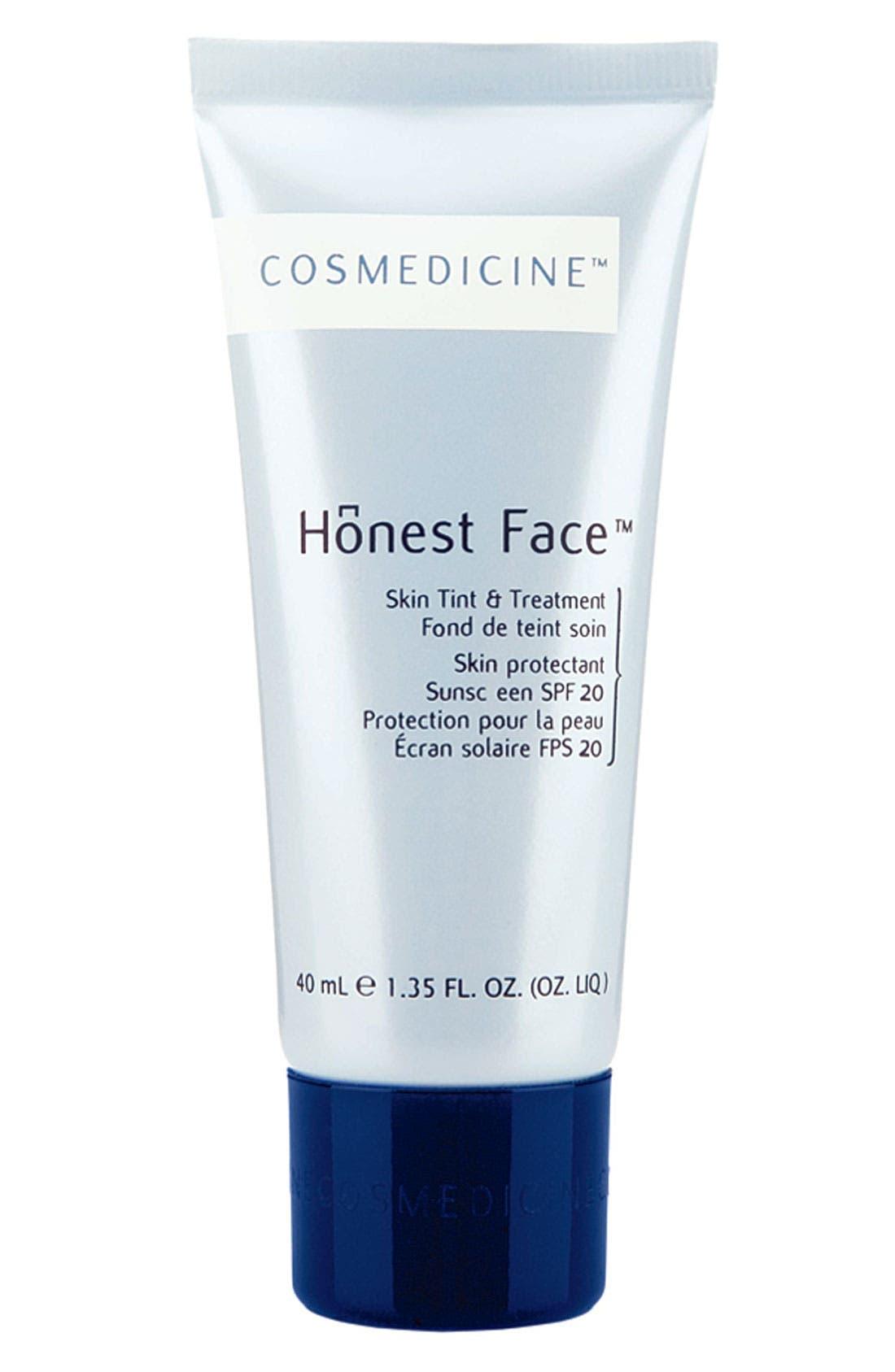 'Honest Face<sup>™</sup>' Skin Tint & Treatment SPF 20,                             Main thumbnail 1, color,                             001
