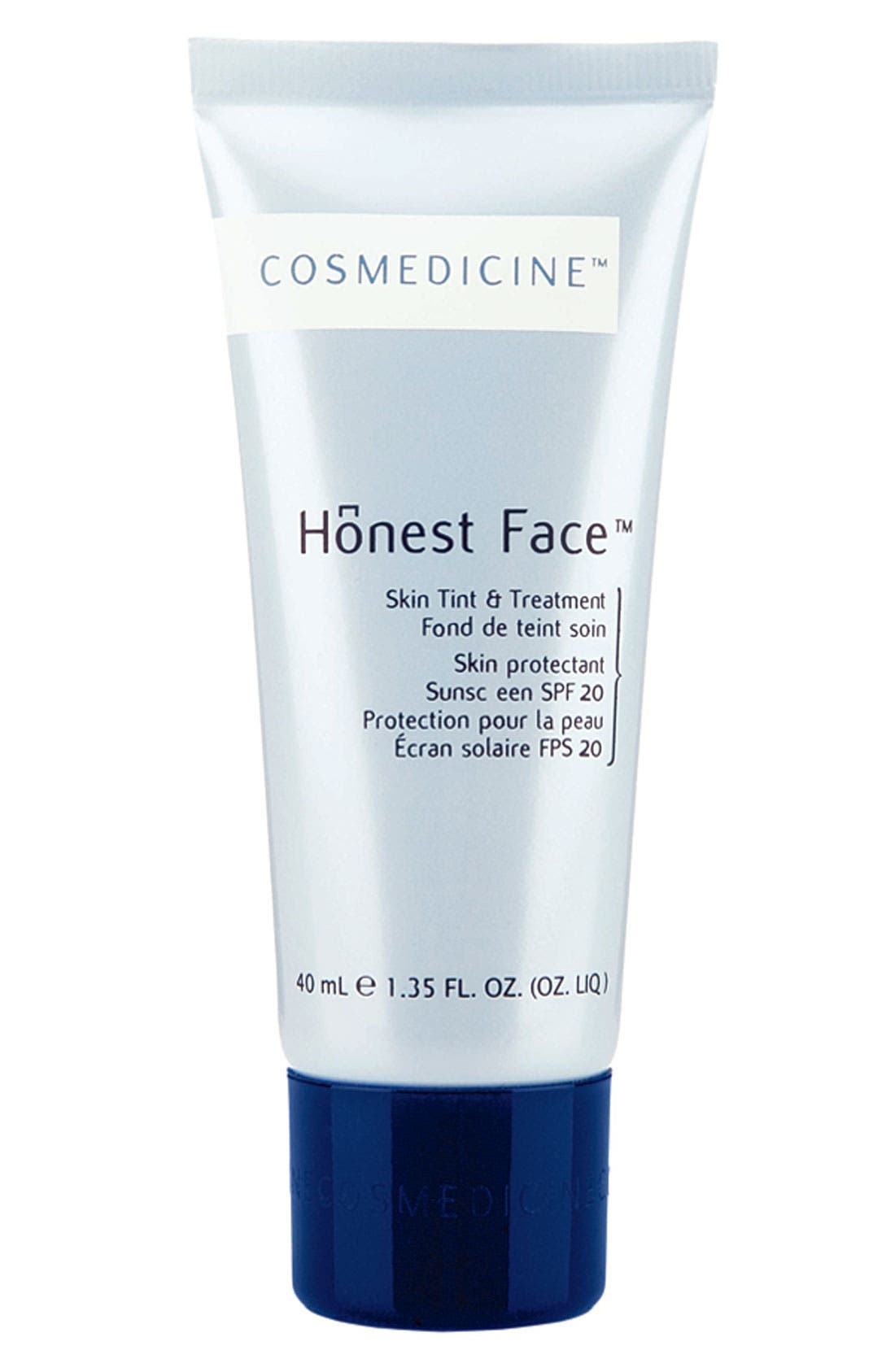 'Honest Face<sup>™</sup>' Skin Tint & Treatment SPF 20, Main, color, 001