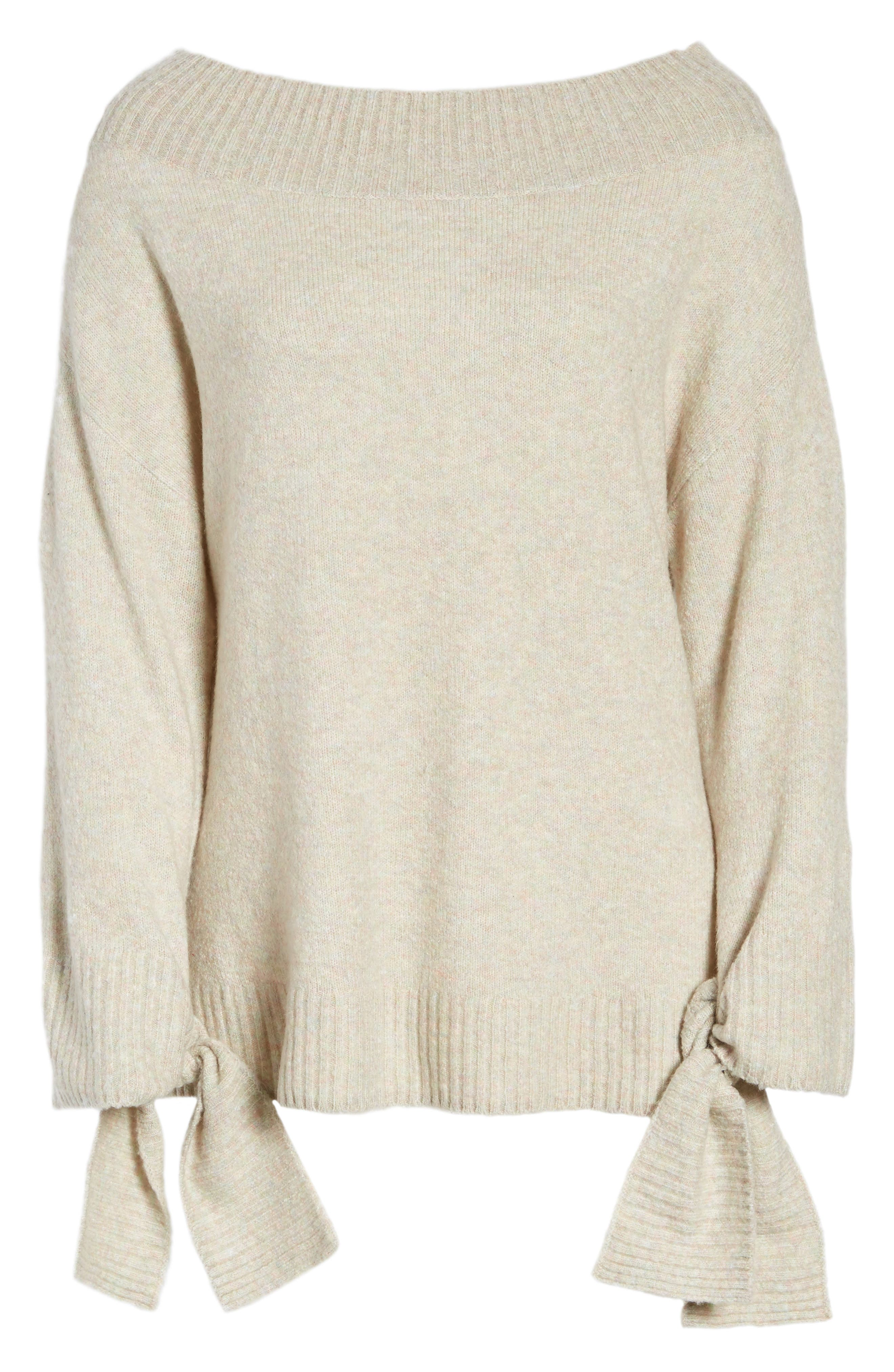 Off the Shoulder Sweater,                             Alternate thumbnail 20, color,
