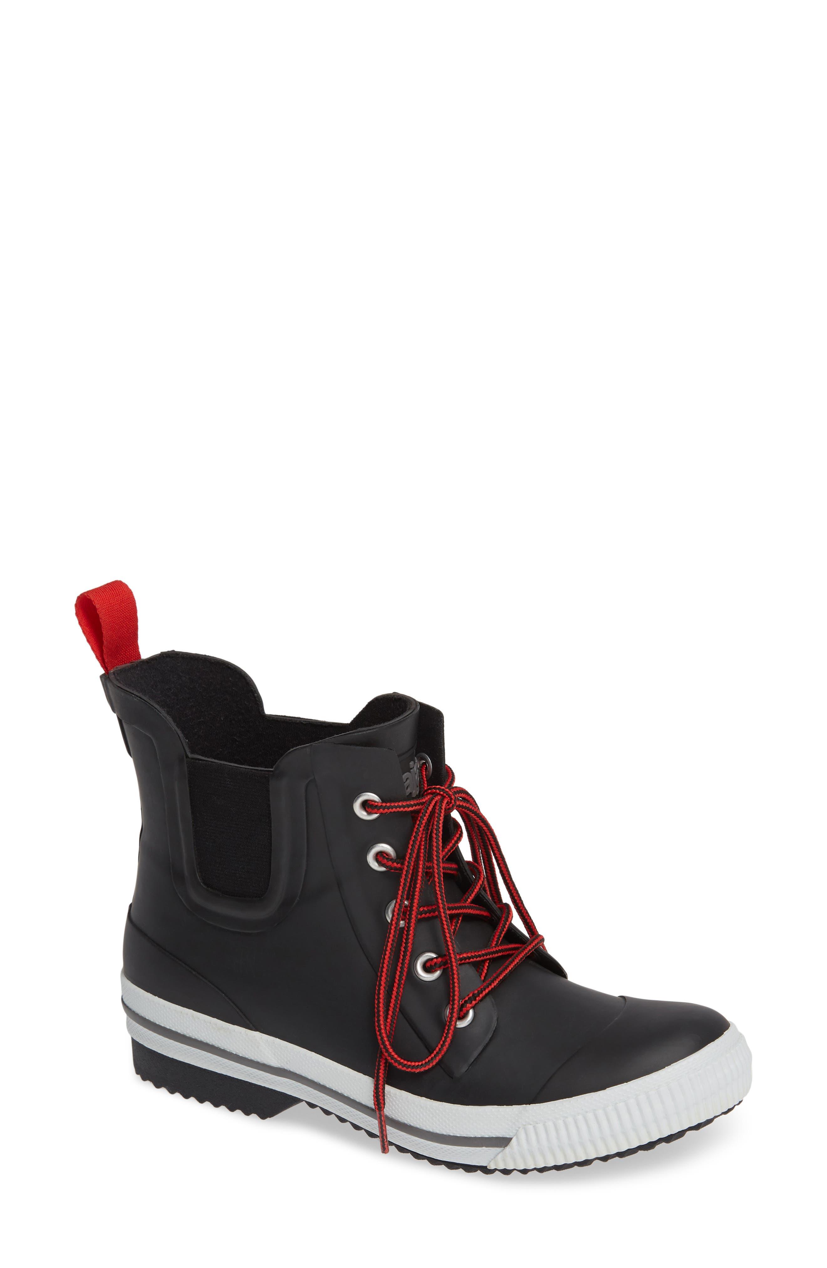 PAJAR Lolita Waterproof Chelsea Waterproof Rain Boot in Black