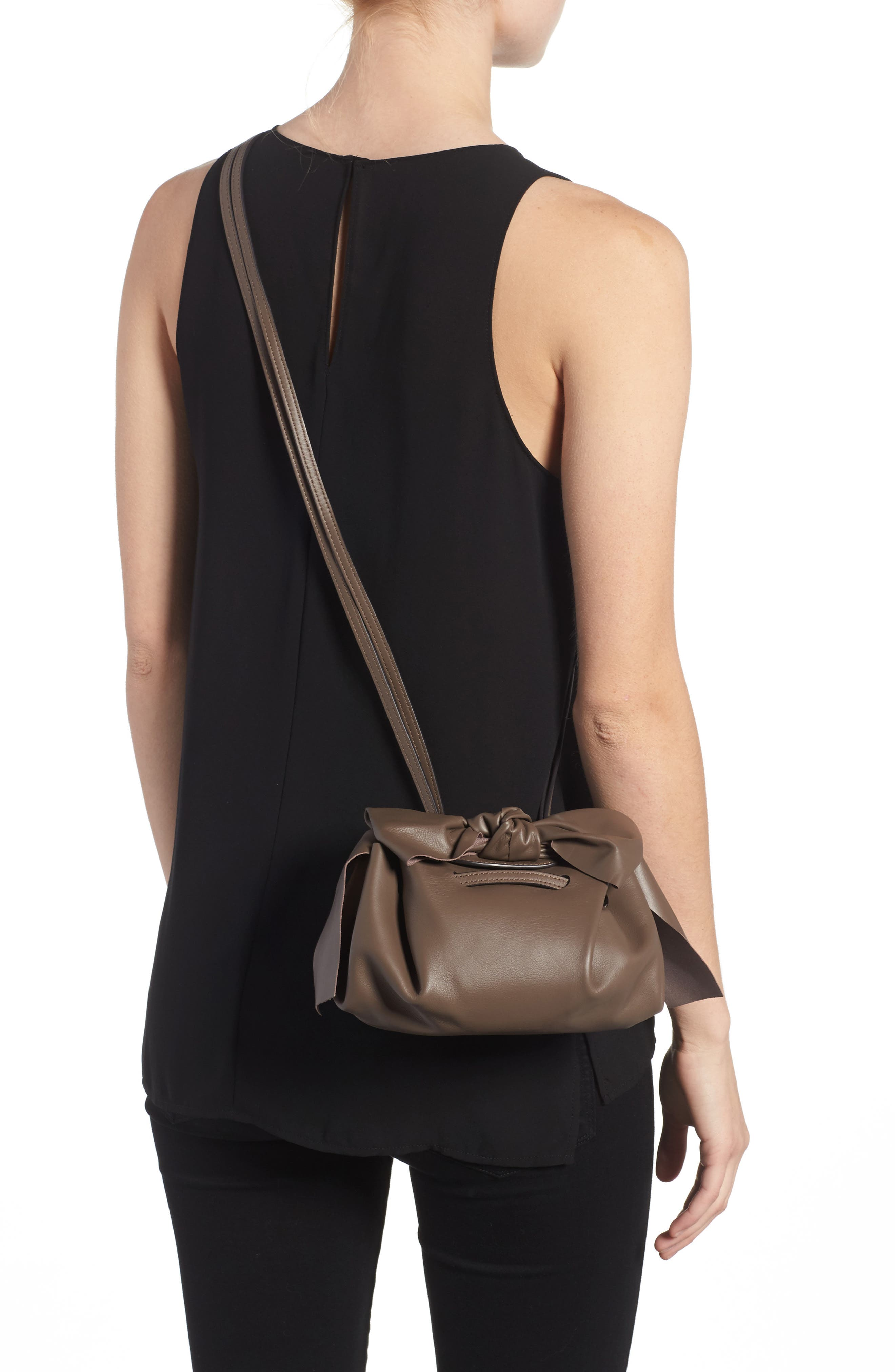 Soiree Leather Crossbody Bag,                             Alternate thumbnail 2, color,                             202