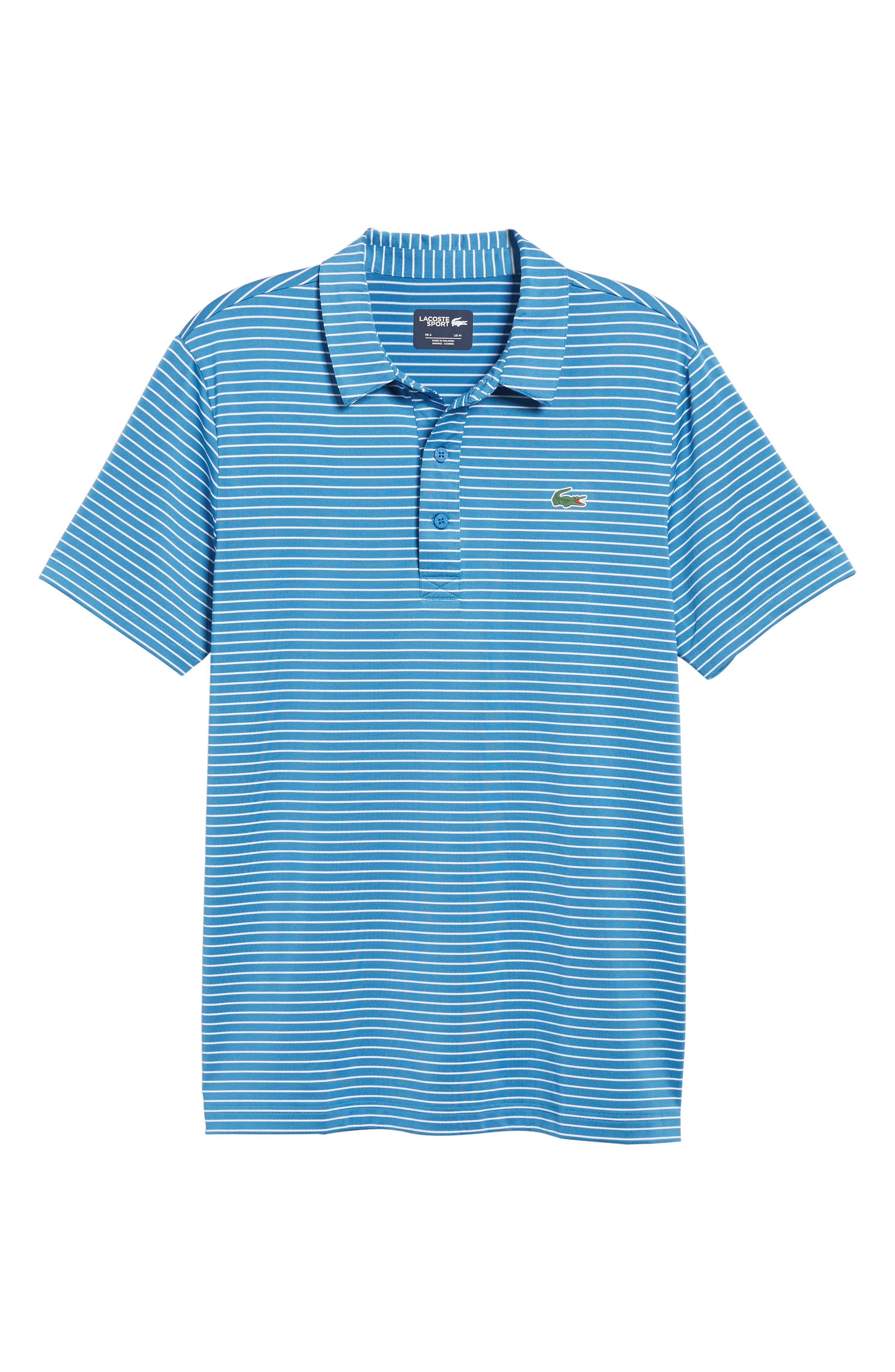 Stripe Polo,                             Alternate thumbnail 6, color,                             100