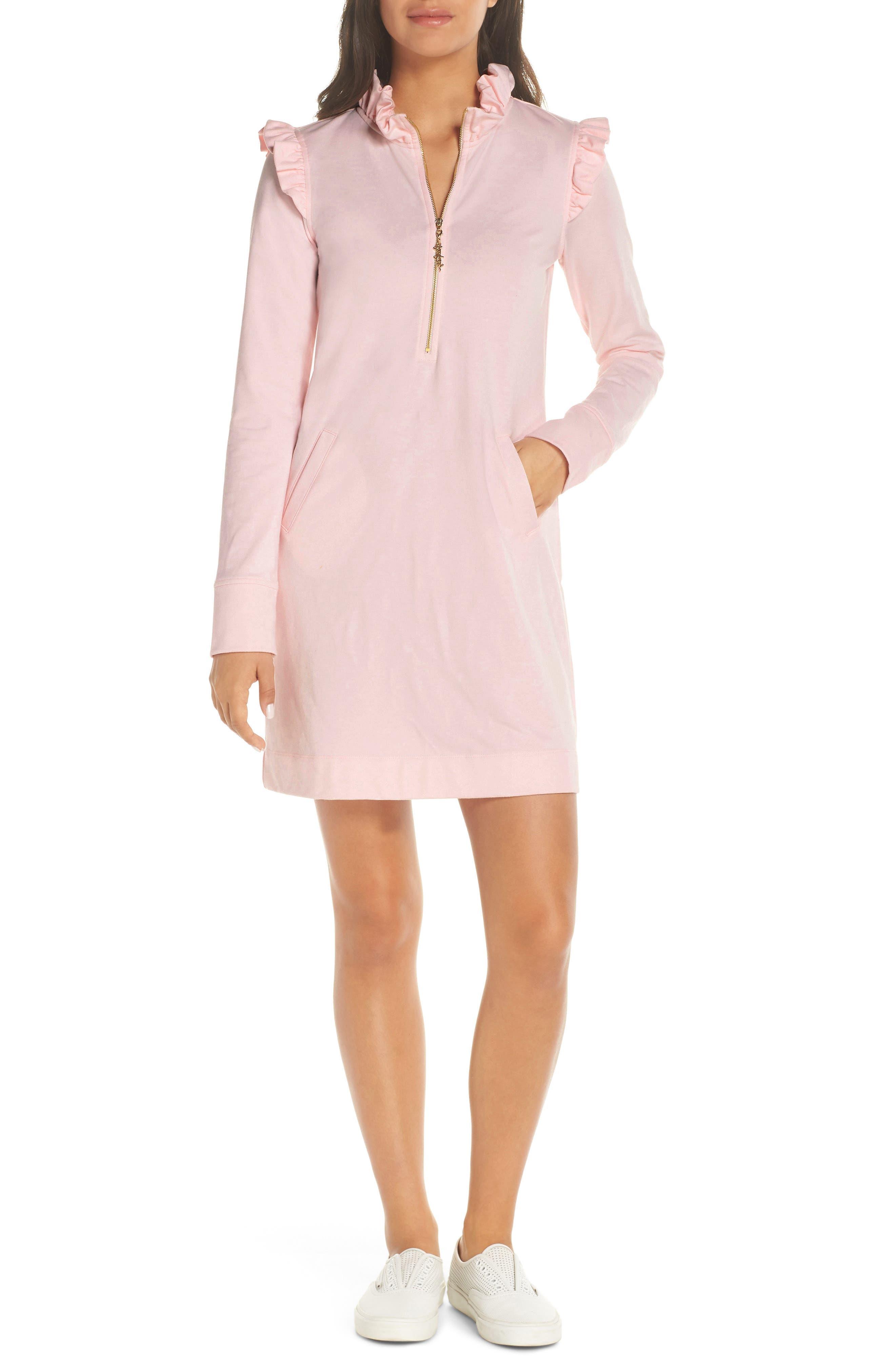 Lilly Pulitzer Skipper Upf 50+ Shift Dress, Pink