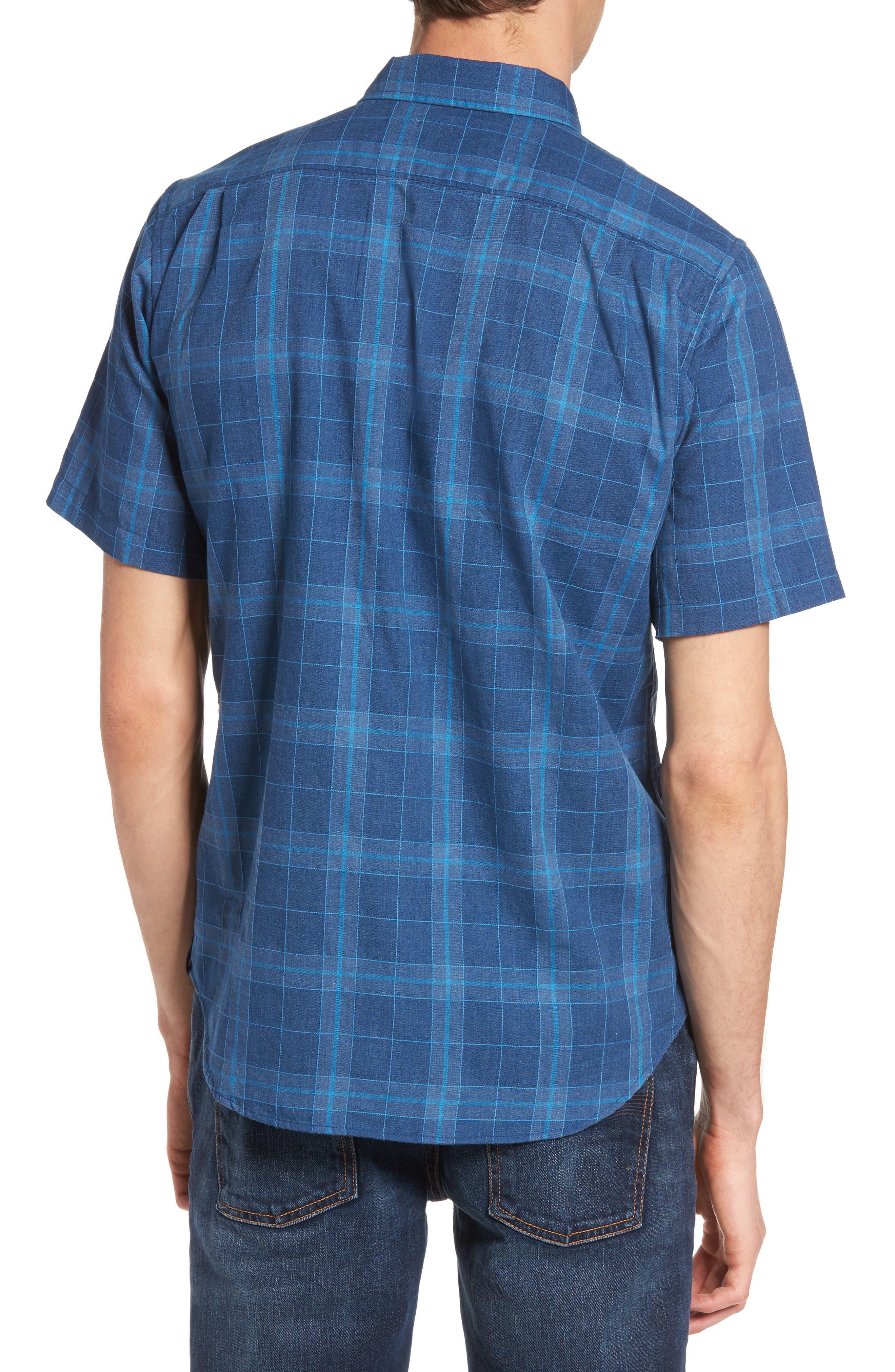 Plaid Woven Shirt,                             Alternate thumbnail 4, color,