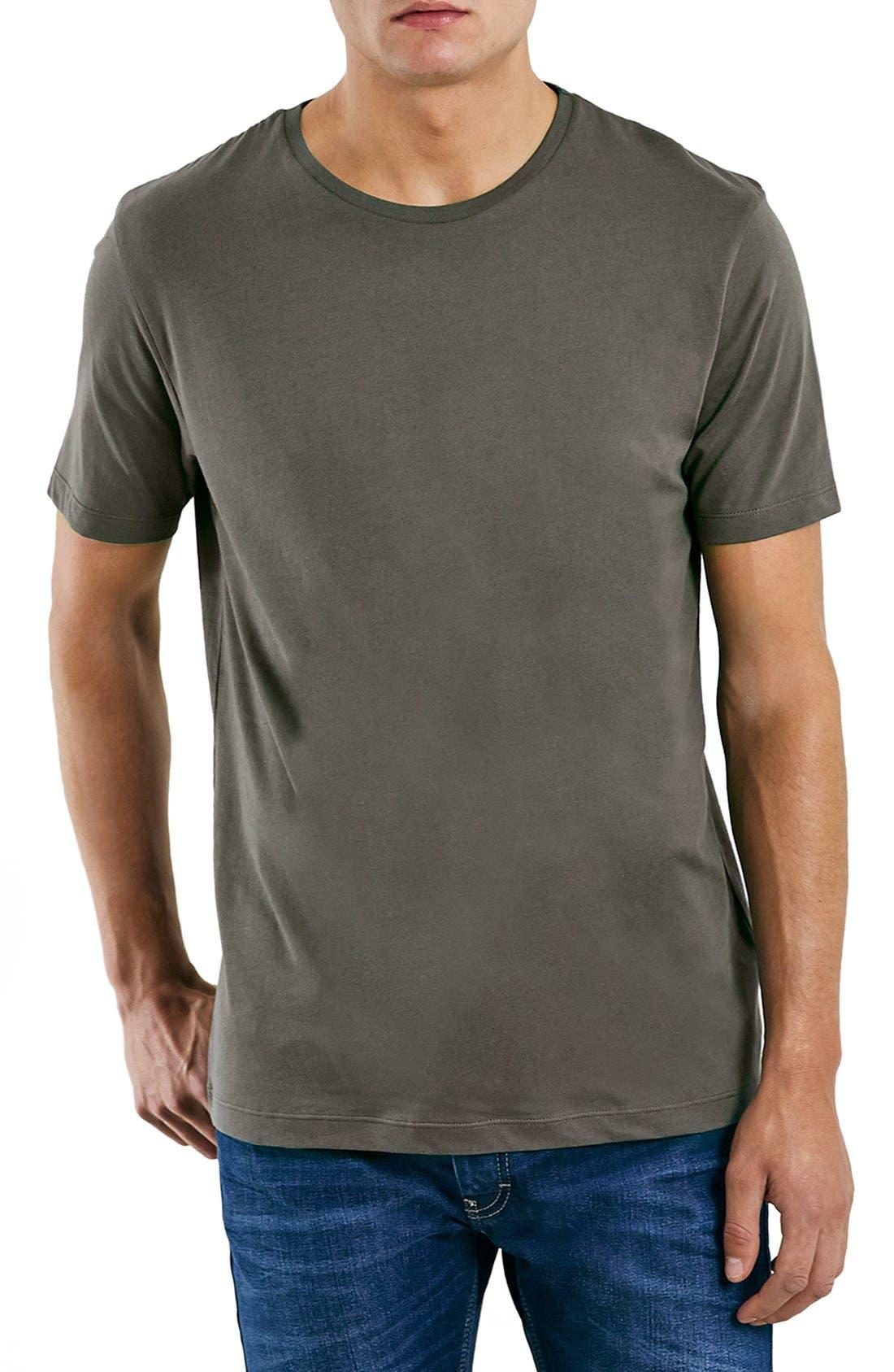 Slim Fit Crewneck T-Shirt,                             Main thumbnail 49, color,