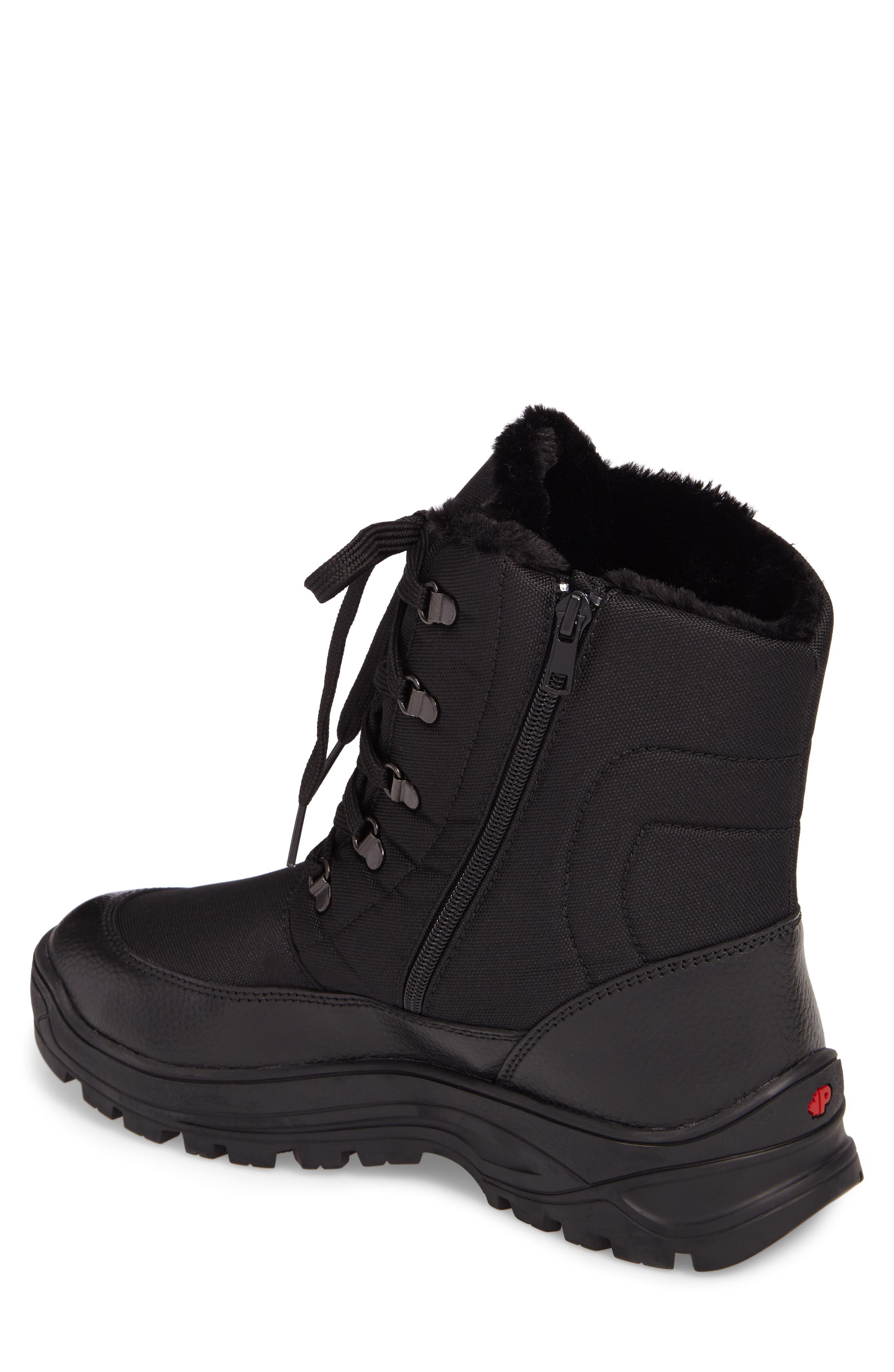 Trigger Winter Waterproof Boot,                             Alternate thumbnail 2, color,                             BLACK
