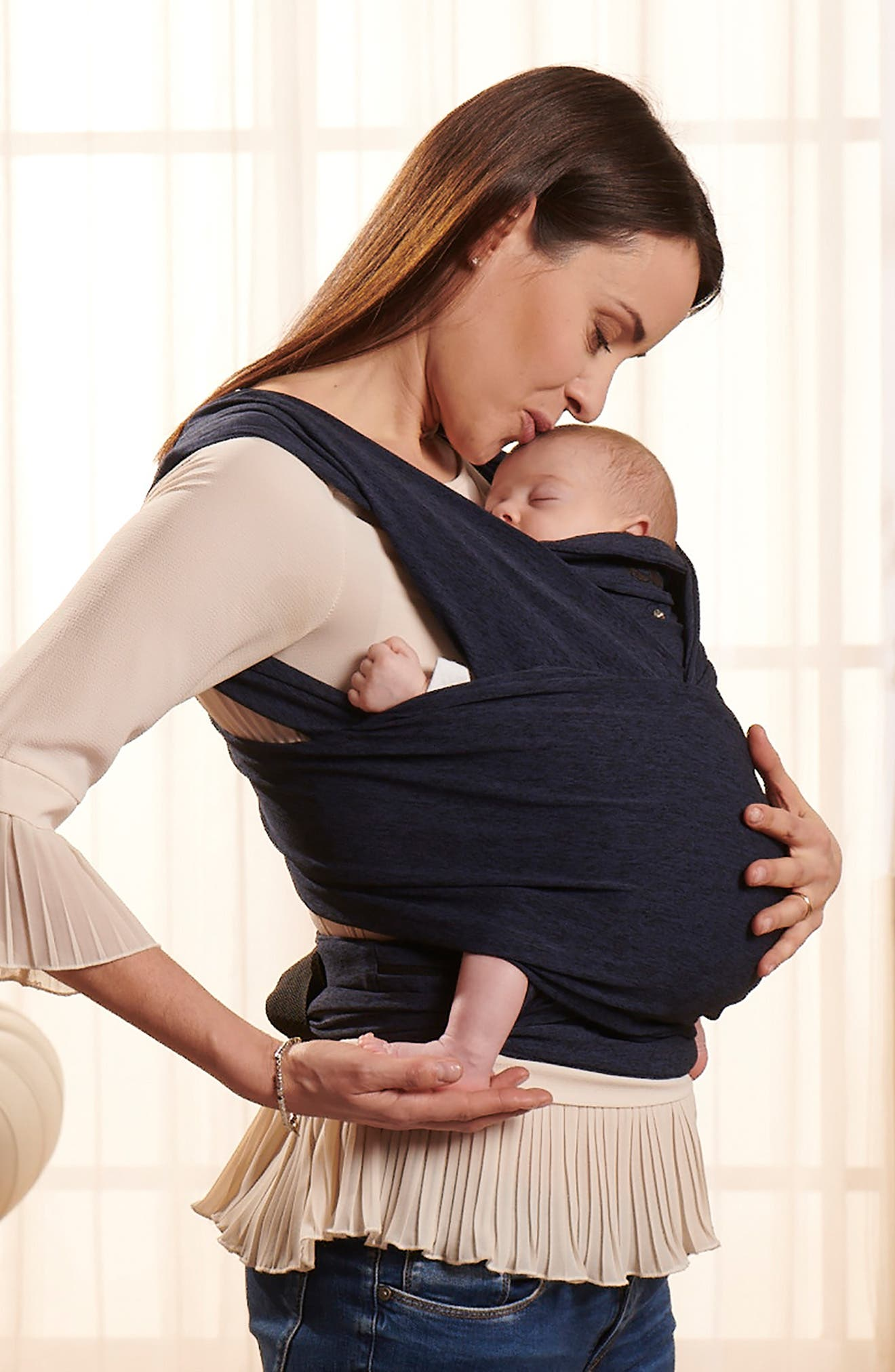 ComfyFit Baby Carrier,                             Alternate thumbnail 4, color,                             MIDNIGHT BLUE
