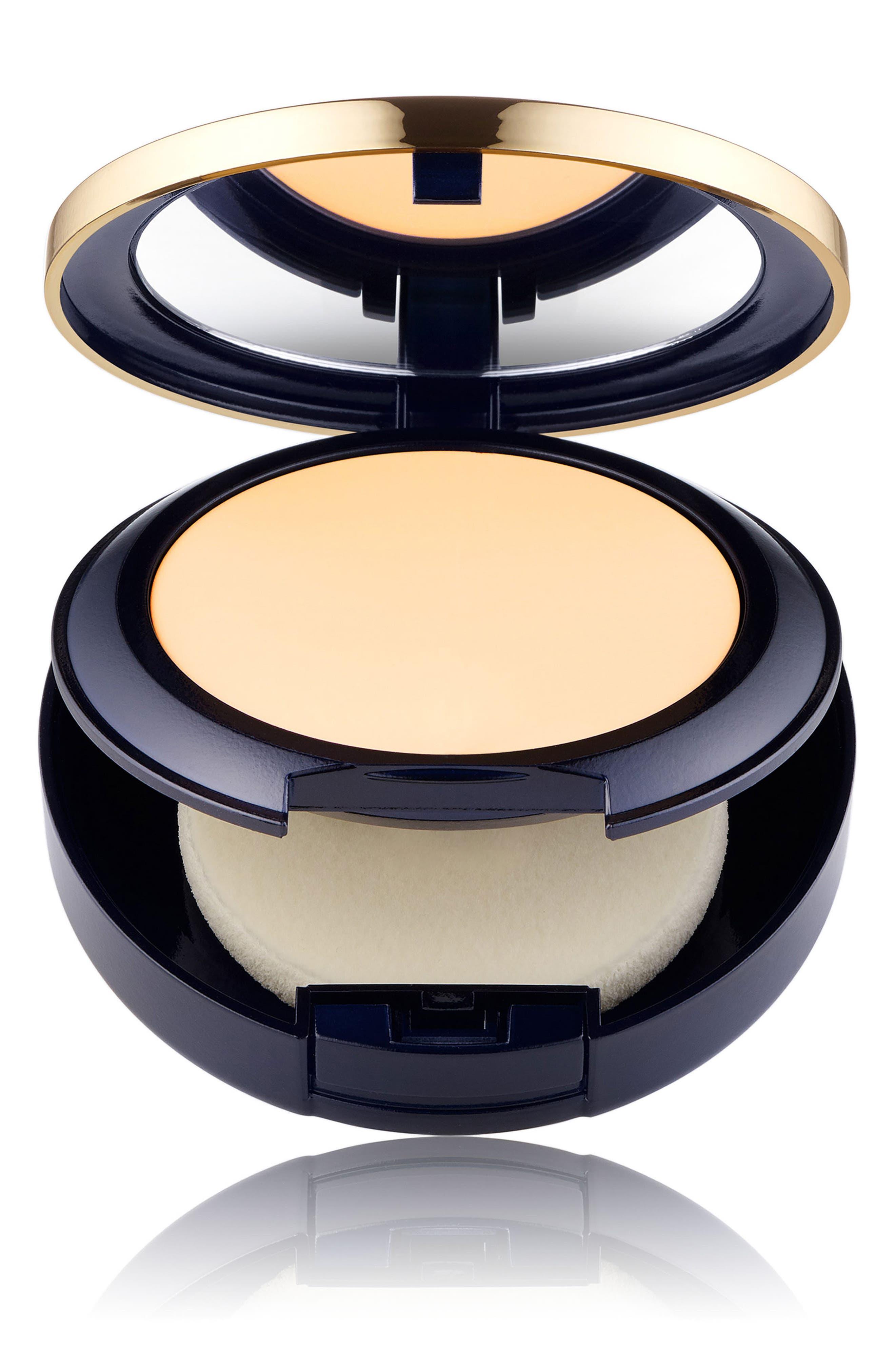 Estee Lauder Double Wear Stay In Place Matte Powder Foundation - 1W0 Warm Porcelain