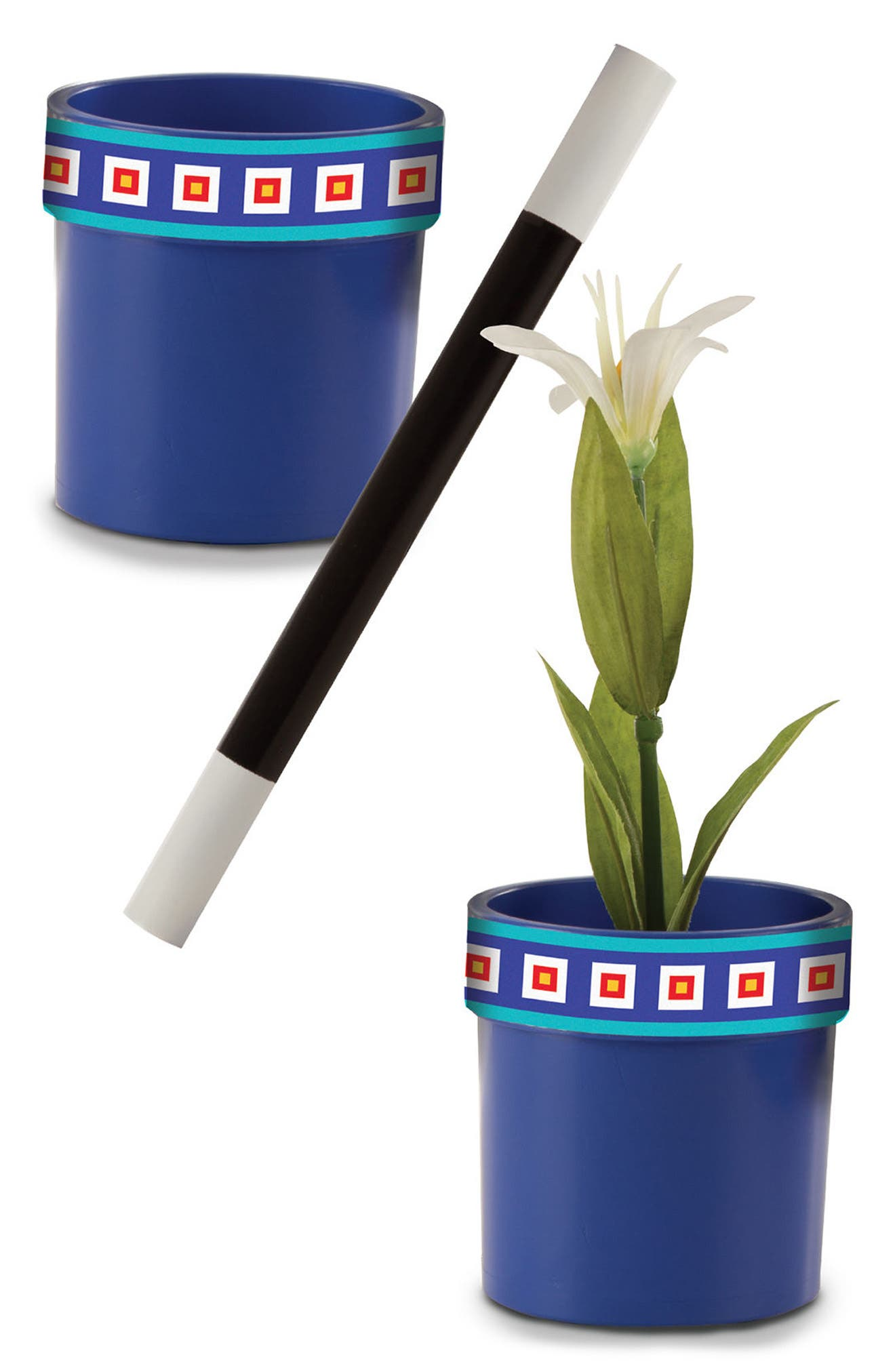 Magic in a Snap Magic Flower Pot & Wand Toy,                             Alternate thumbnail 2, color,                             001