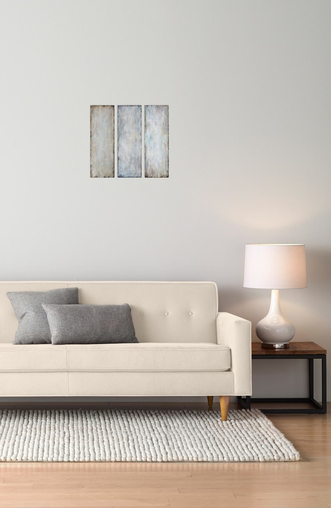 'Textured Trio' Abstract Wall Art,                             Alternate thumbnail 3, color,                             400
