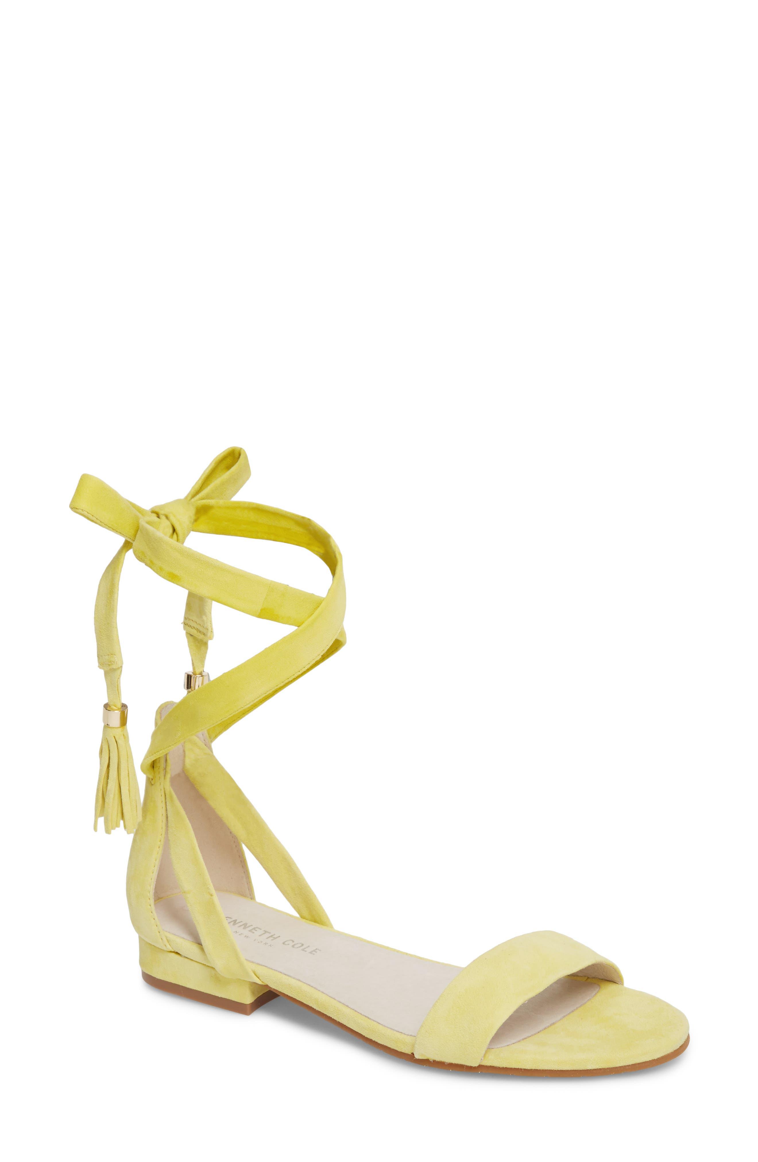 Valen Tassel Lace-Up Sandal,                             Main thumbnail 2, color,