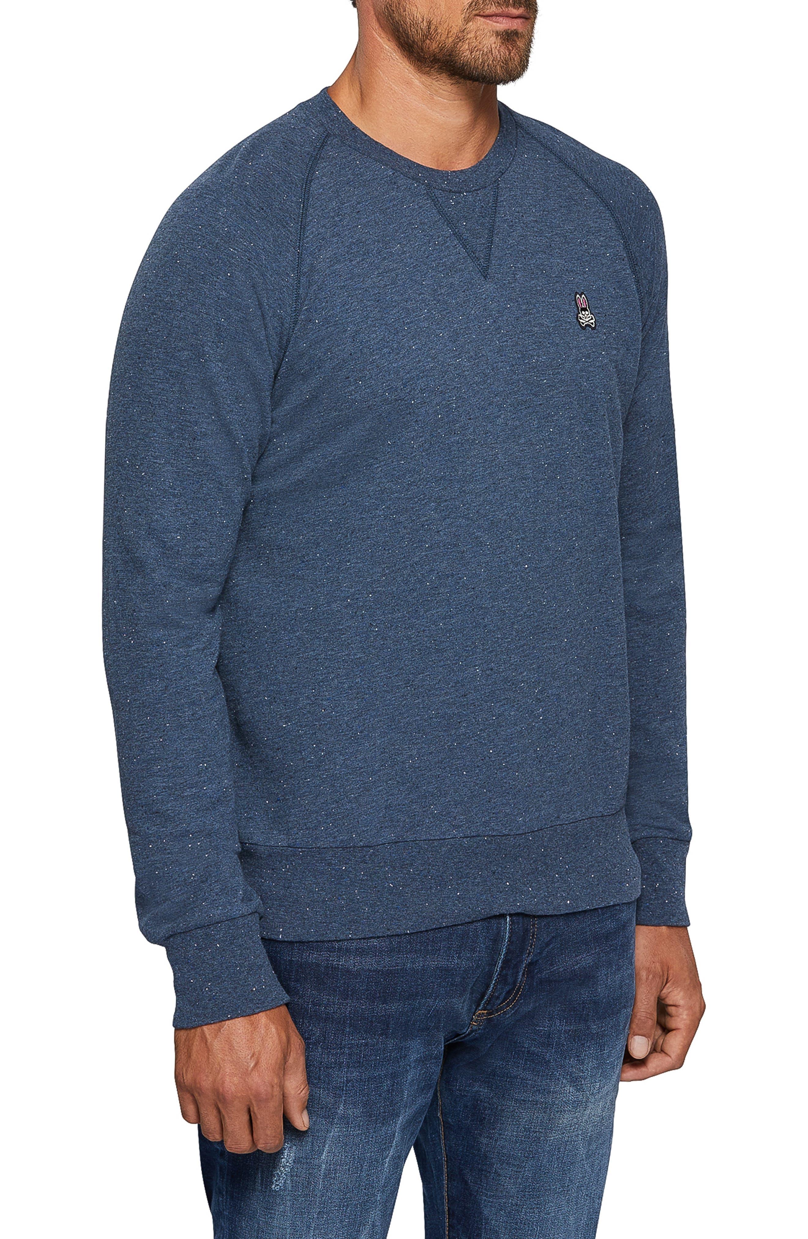 Larne Donegal Crewneck Sweatshirt,                             Alternate thumbnail 3, color,                             GULF