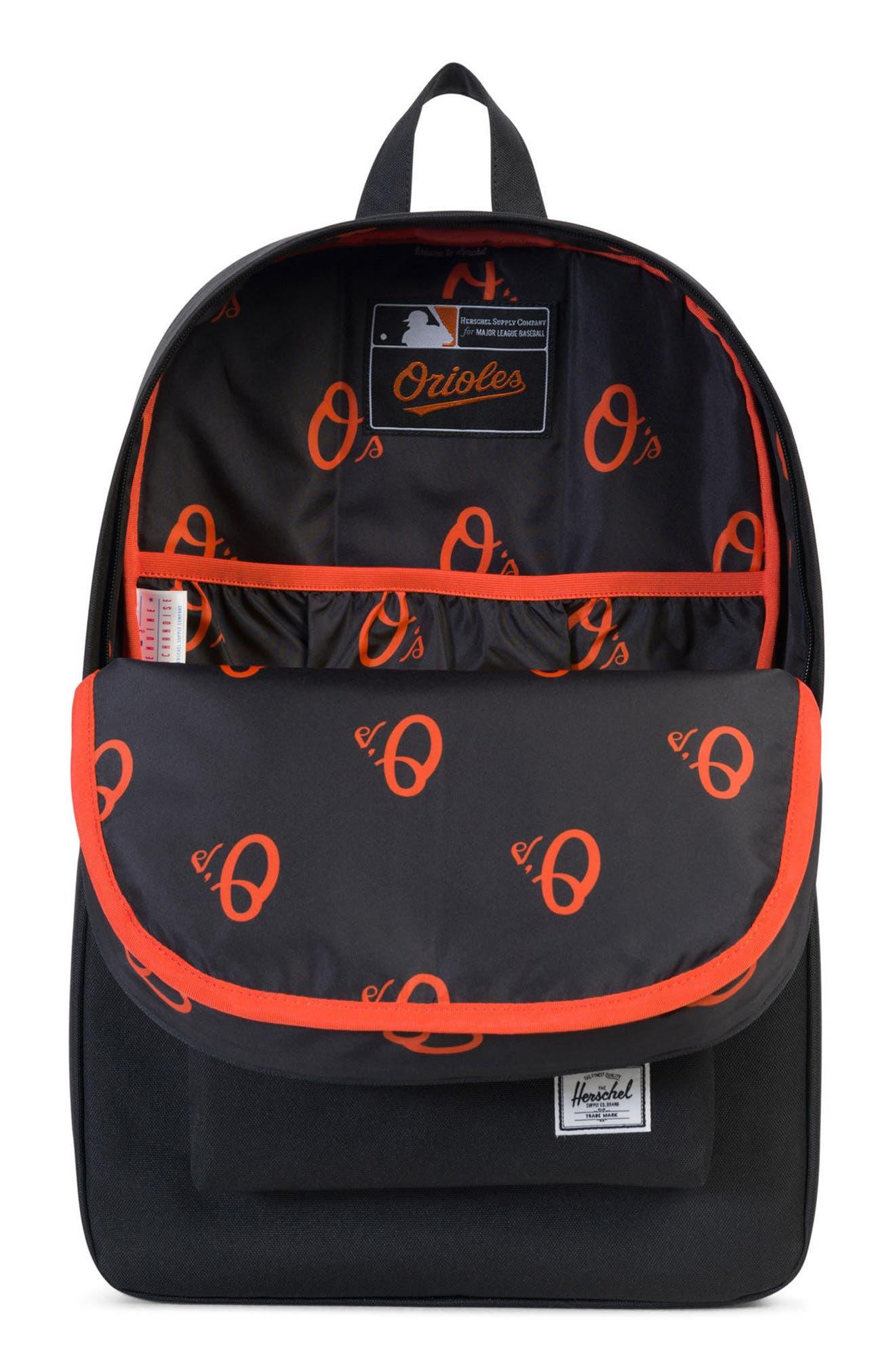 Heritage - MLB American League Backpack,                             Alternate thumbnail 3, color,                             001