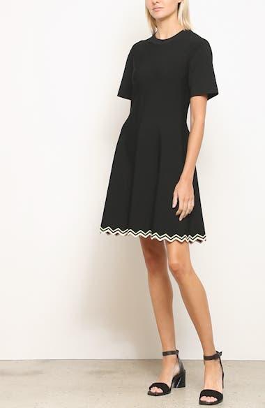 Chevron Hem A-Line Dress, video thumbnail