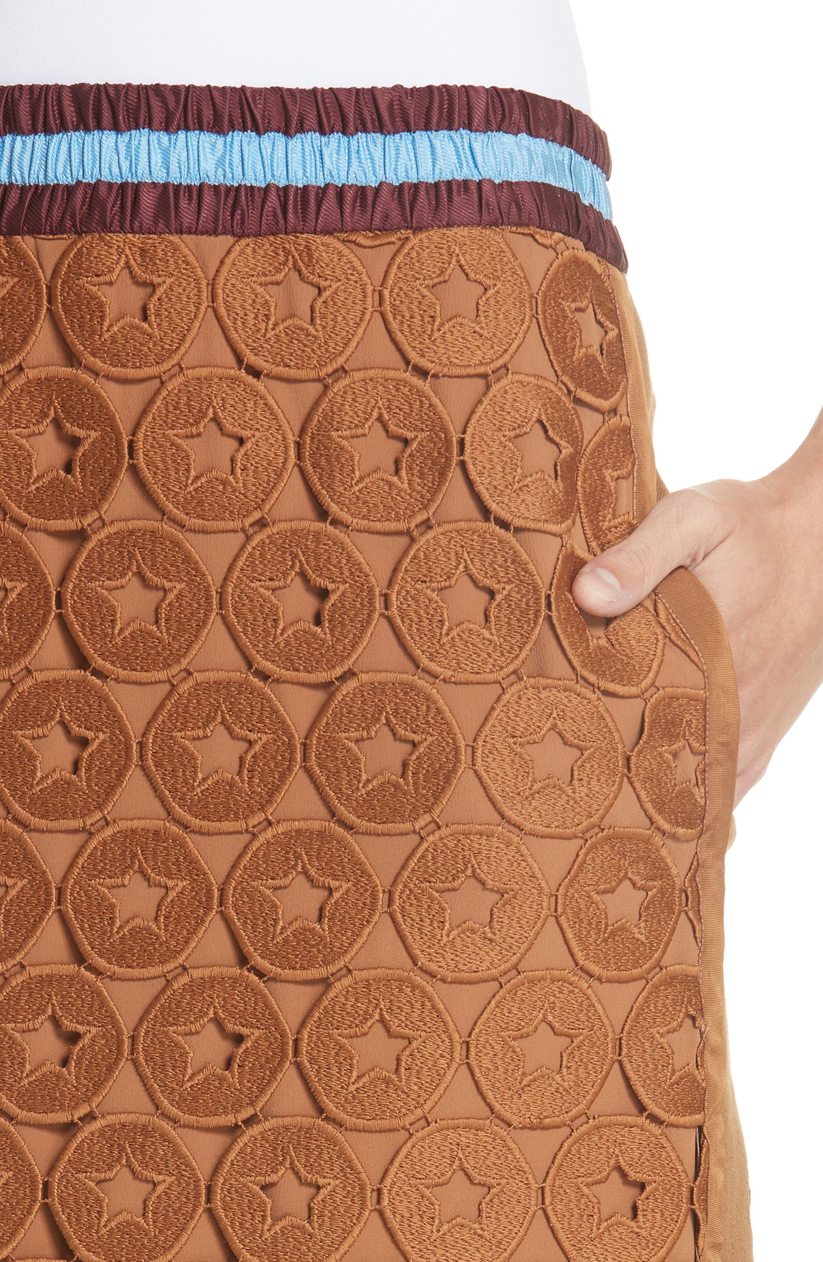 N°21,                             Lace Skirt,                             Alternate thumbnail 4, color,                             200