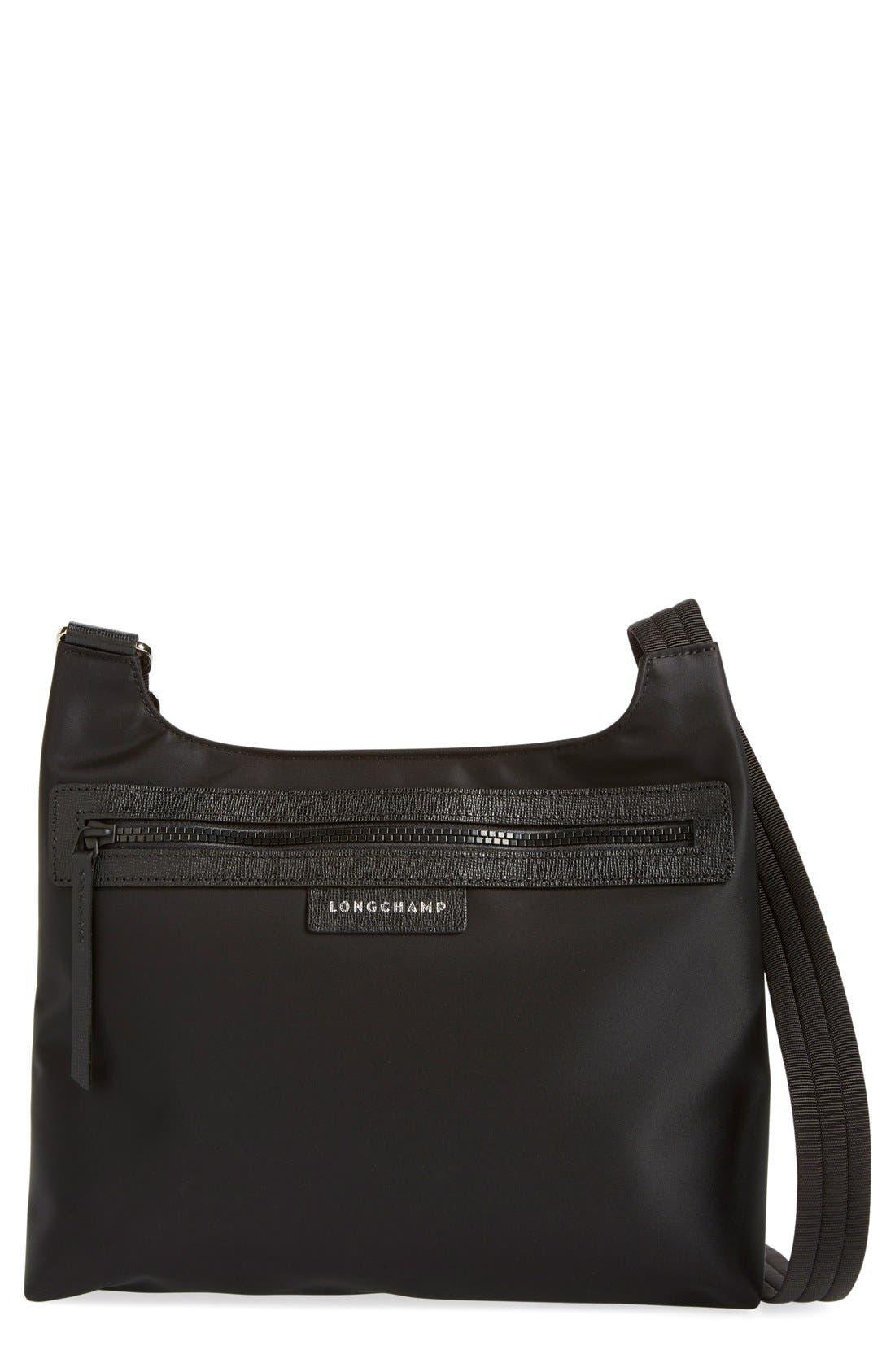 'Le Pliage Neo' Nylon Crossbody Bag,                             Main thumbnail 1, color,                             BLACK
