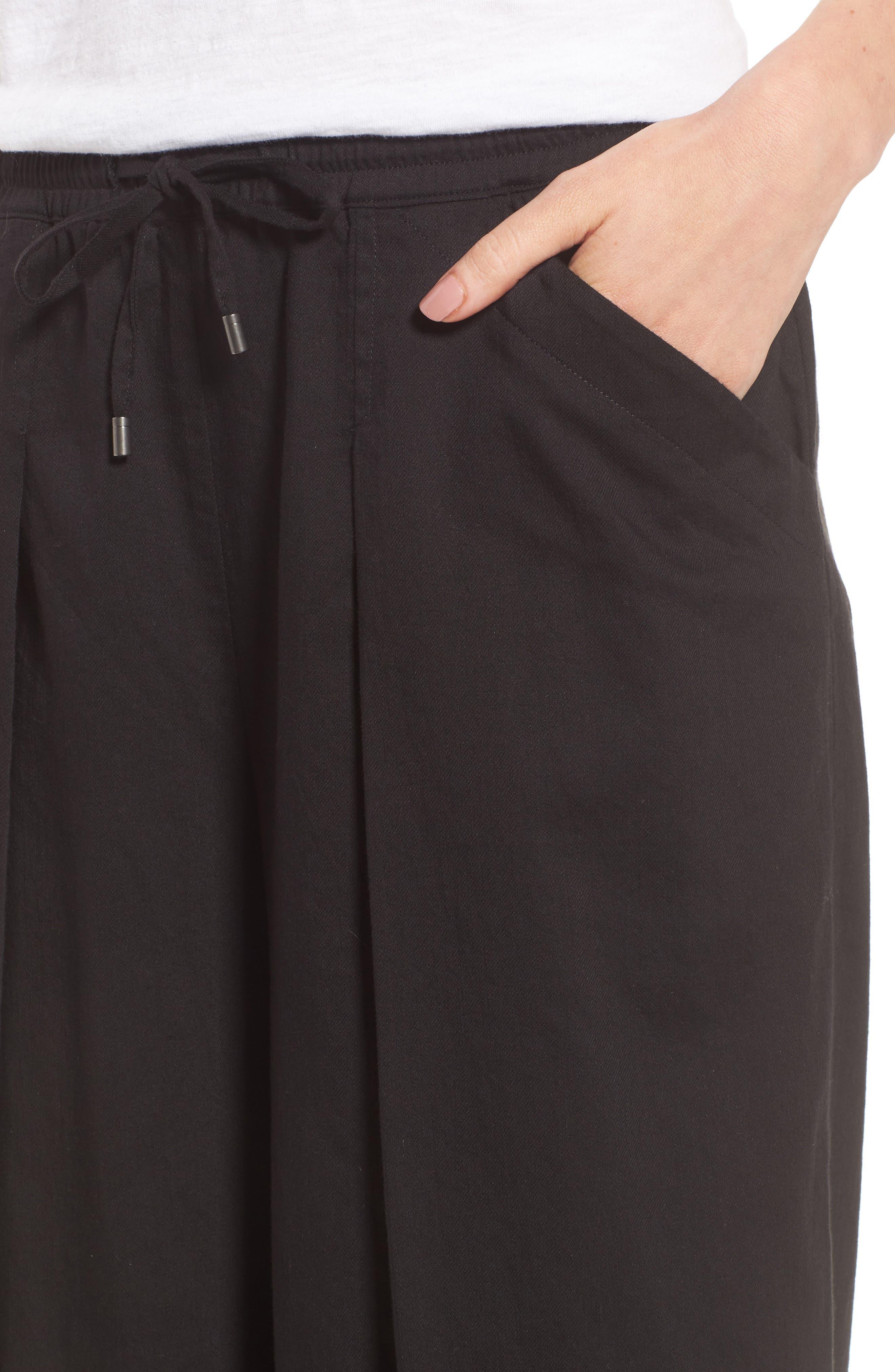Wide Leg Crop Pants,                             Alternate thumbnail 7, color,