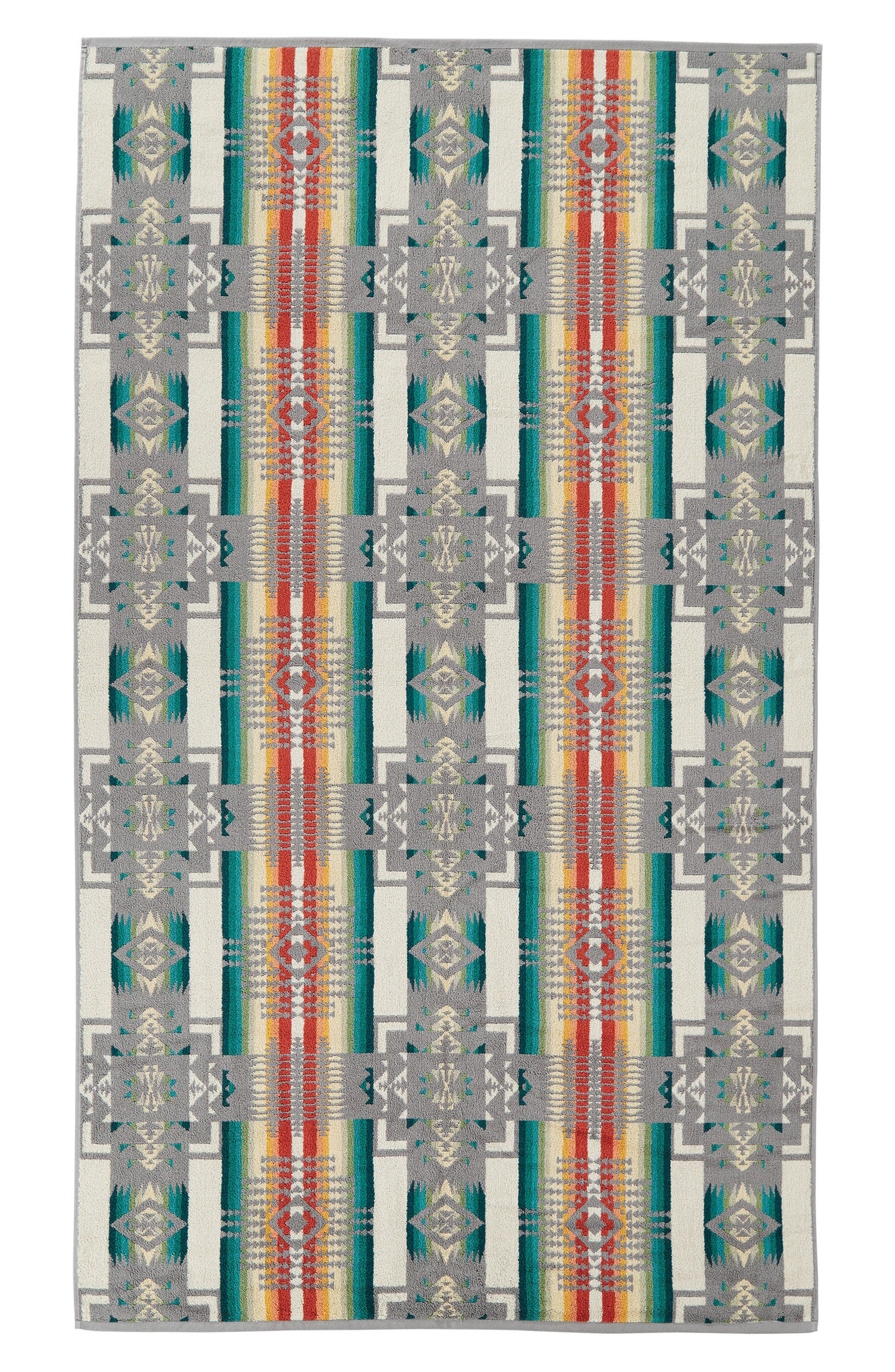 PENDLETON,                             Chief Joe Jacquard Towel,                             Alternate thumbnail 3, color,                             020