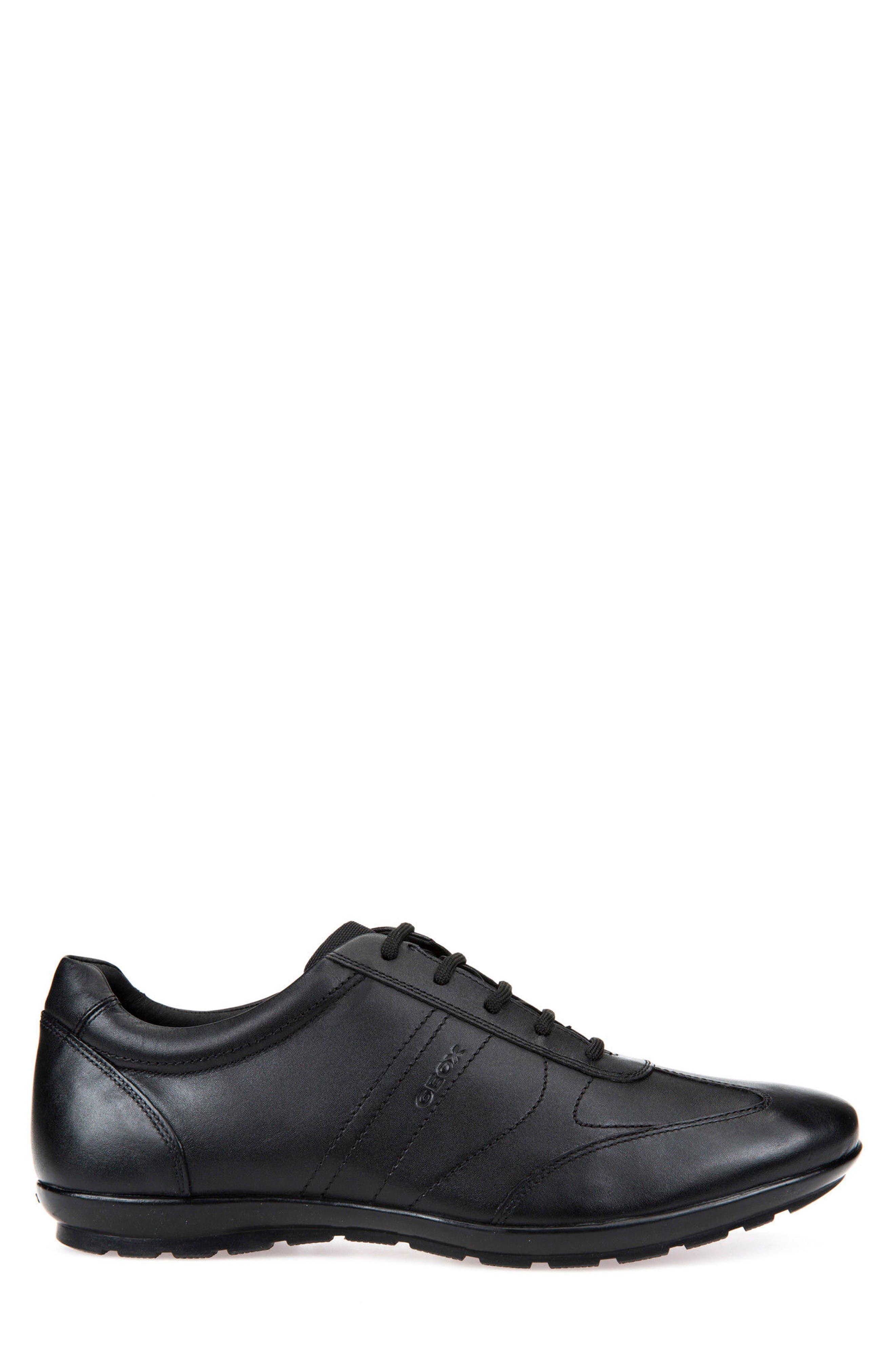 Symbol 19 Euro Sneaker,                             Alternate thumbnail 3, color,                             BLACK
