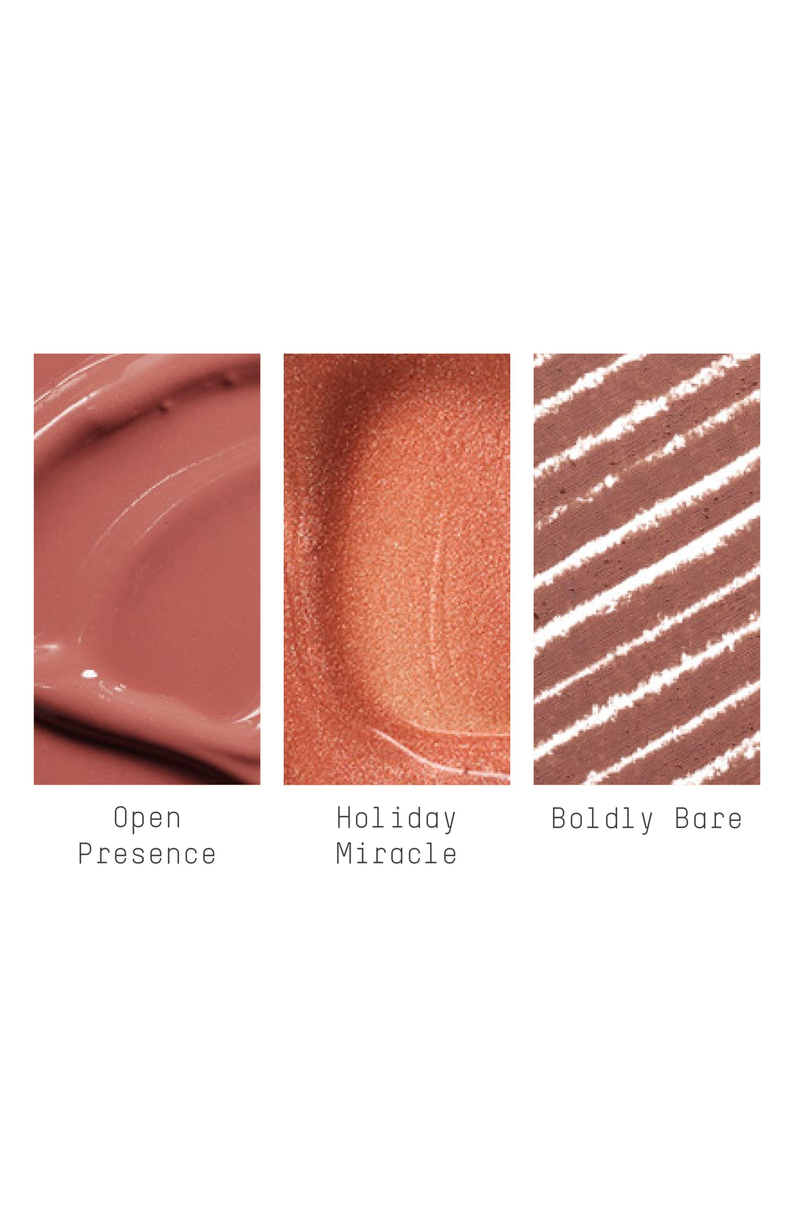 MAC Shiny Pretty Things Goody Bag Nude Lips,                             Alternate thumbnail 4, color,                             NUDE LIPS