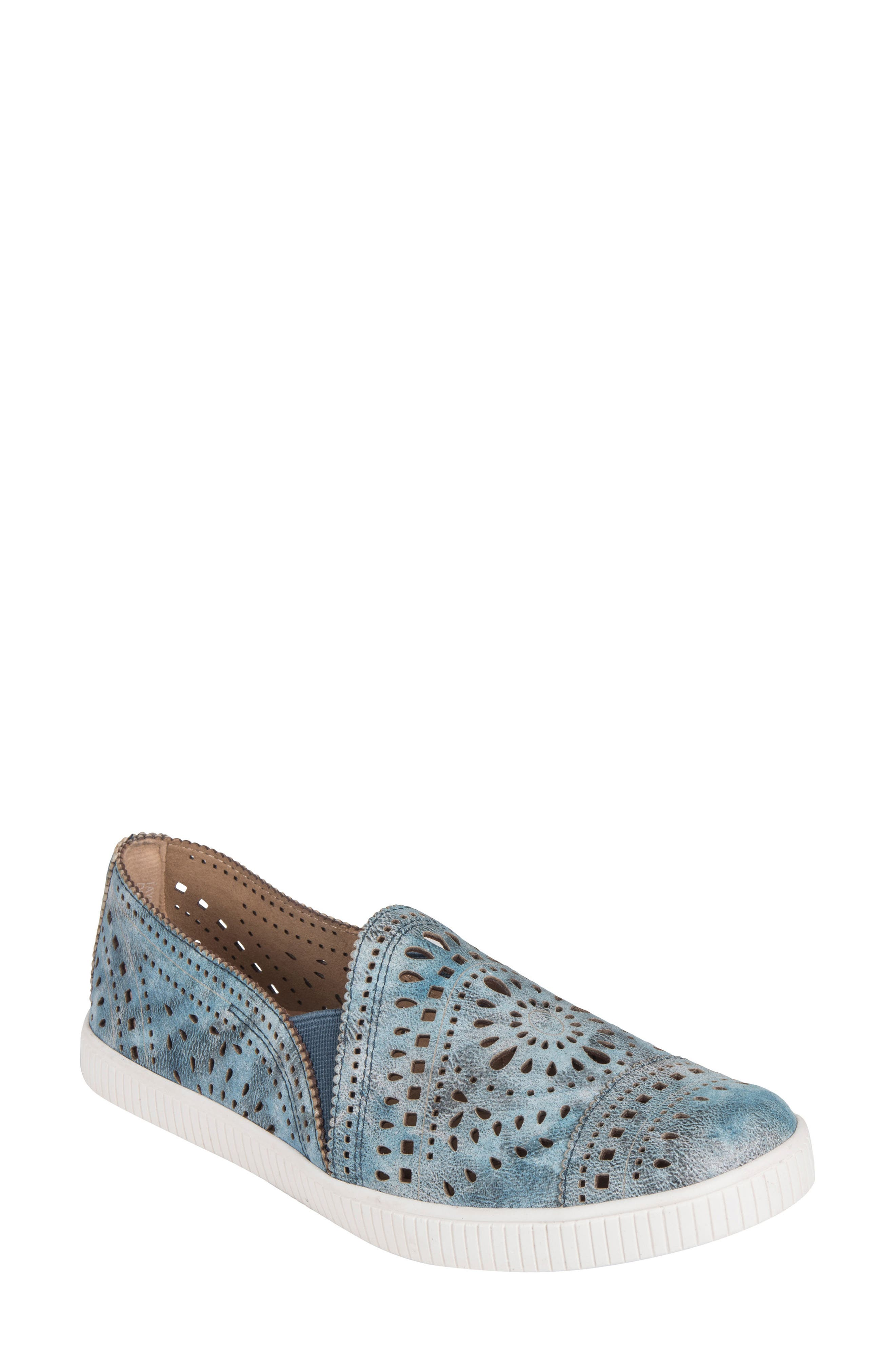 Tayberry Perforated Slip-On Sneaker,                             Main thumbnail 3, color,