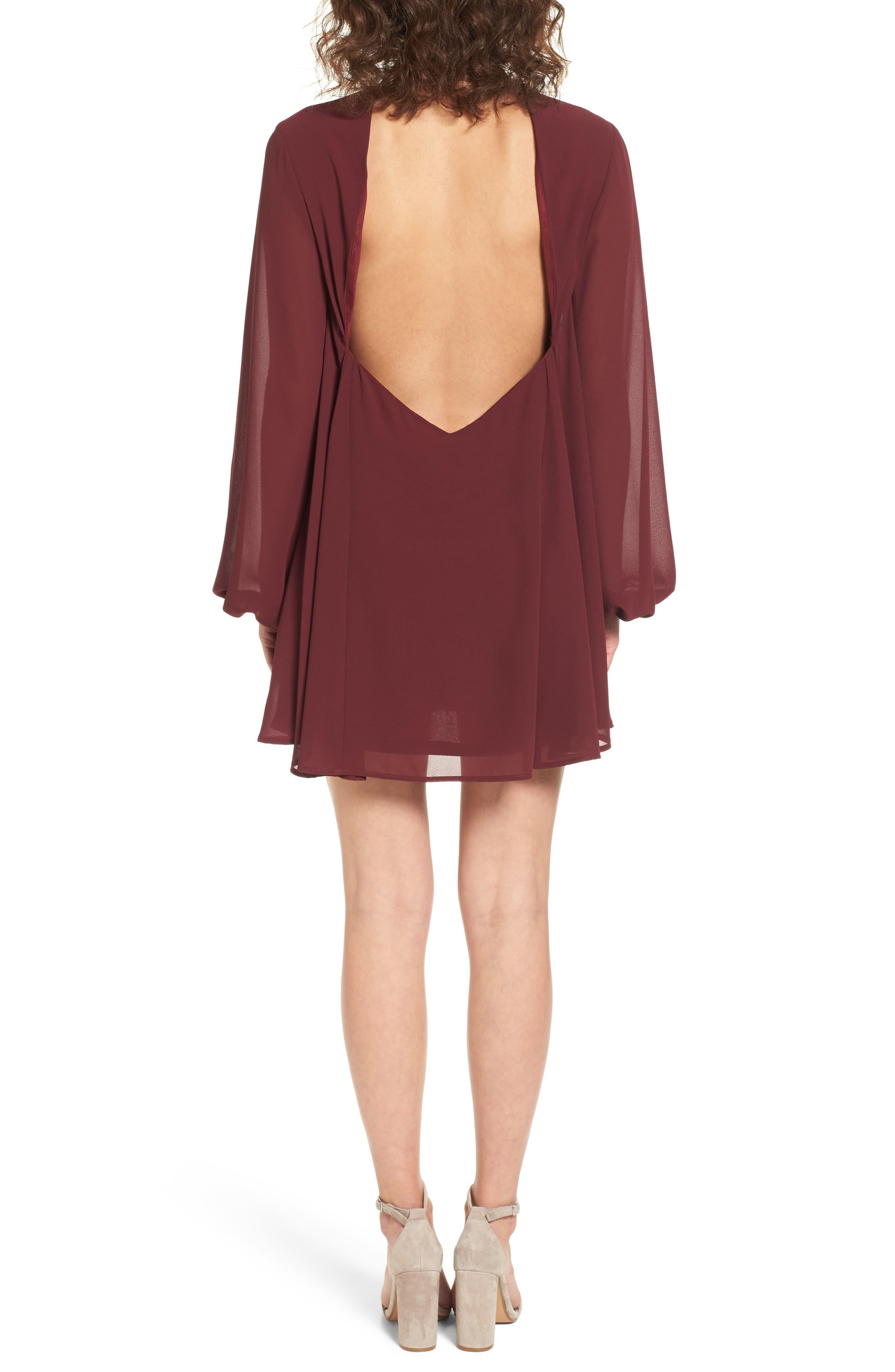 Josephine Choker Dress,                             Alternate thumbnail 2, color,                             930