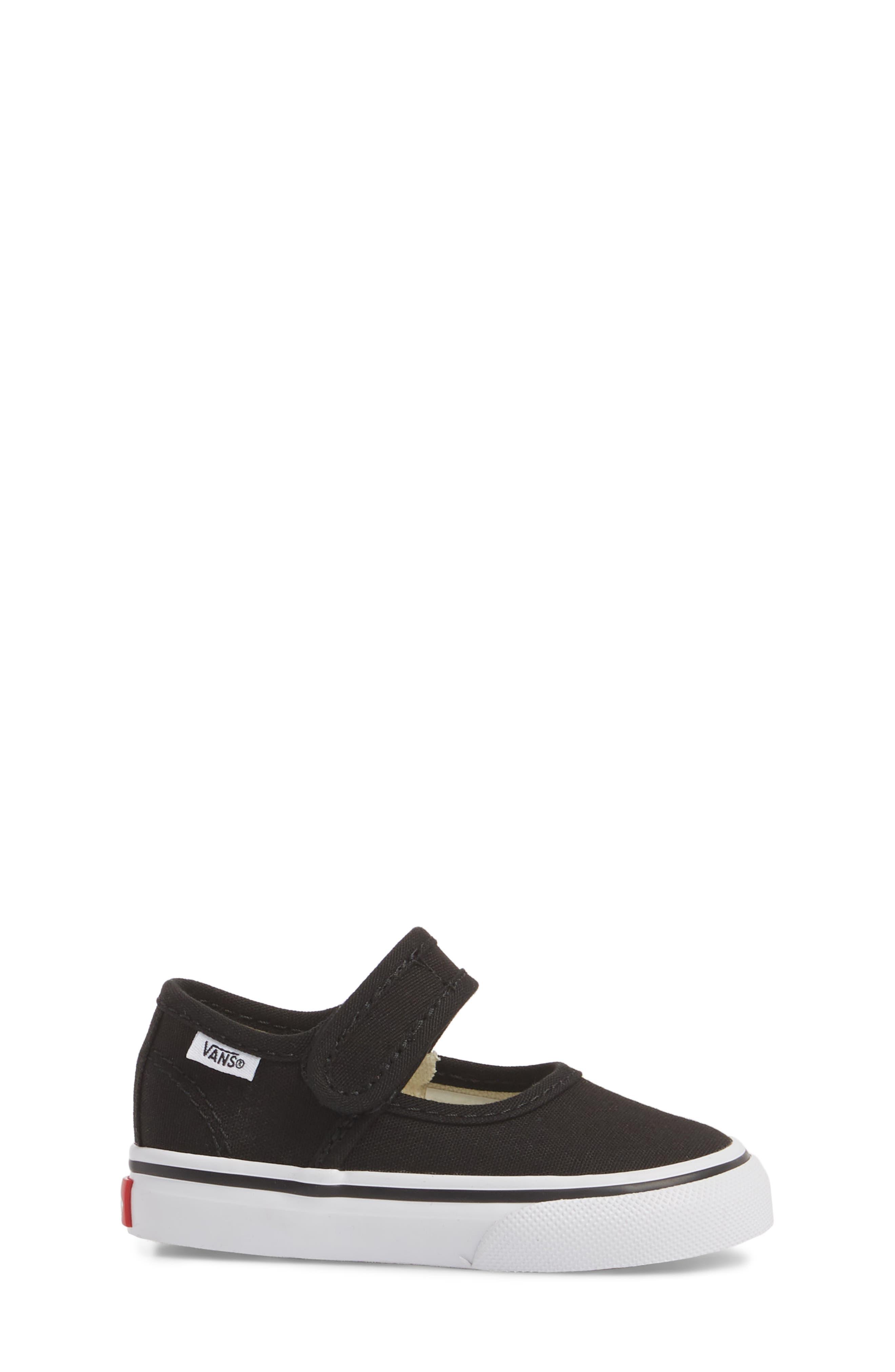 VANS,                             Mary Jane Sneaker,                             Alternate thumbnail 3, color,                             001