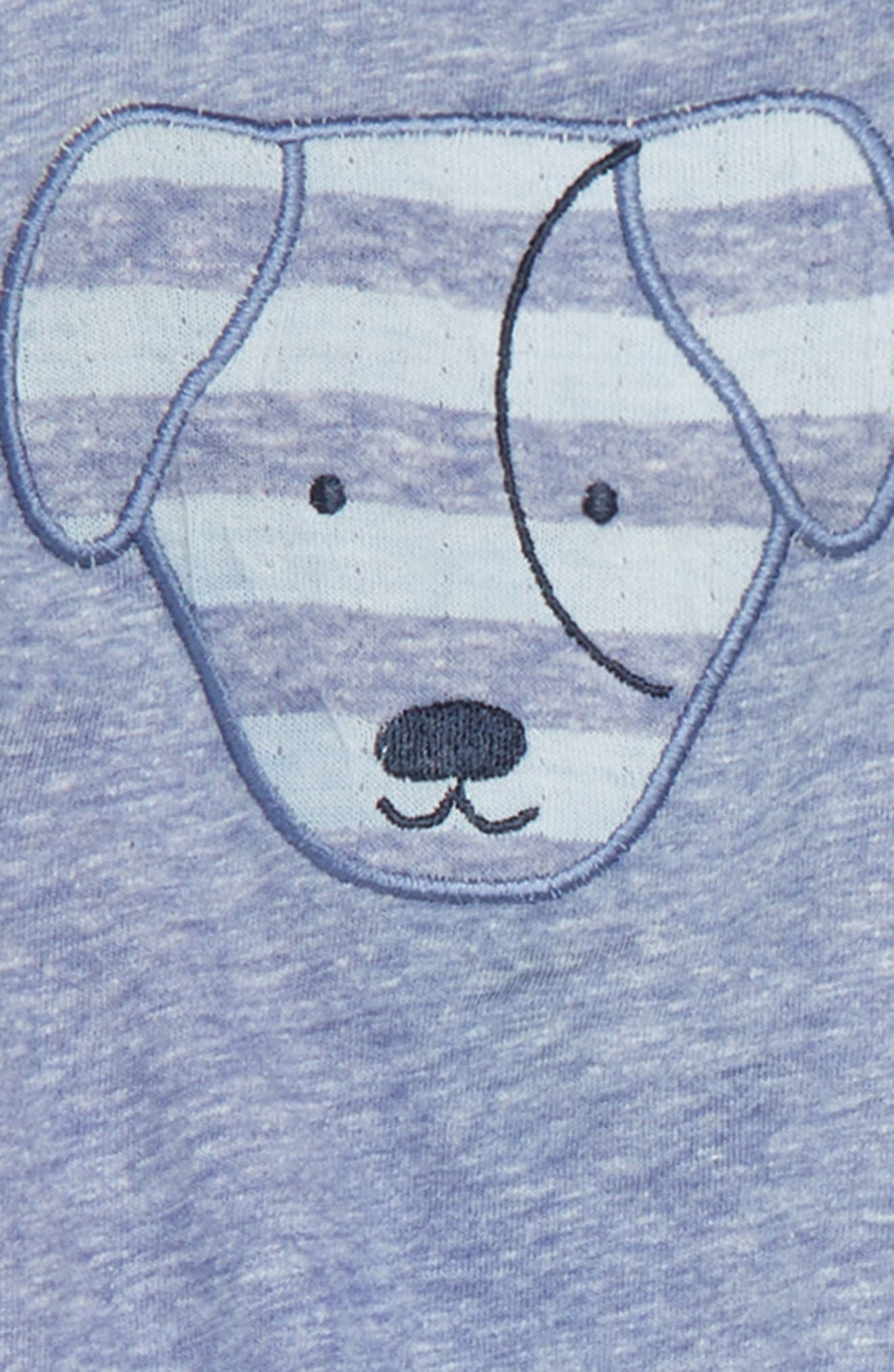 Dog Bodysuit & Pants Set,                             Alternate thumbnail 2, color,                             410