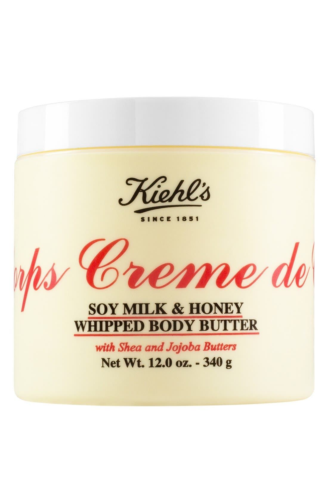 'Creme de Corps' Soy Milk & Honey Whipped Body Butter,                             Alternate thumbnail 3, color,                             NO COLOR