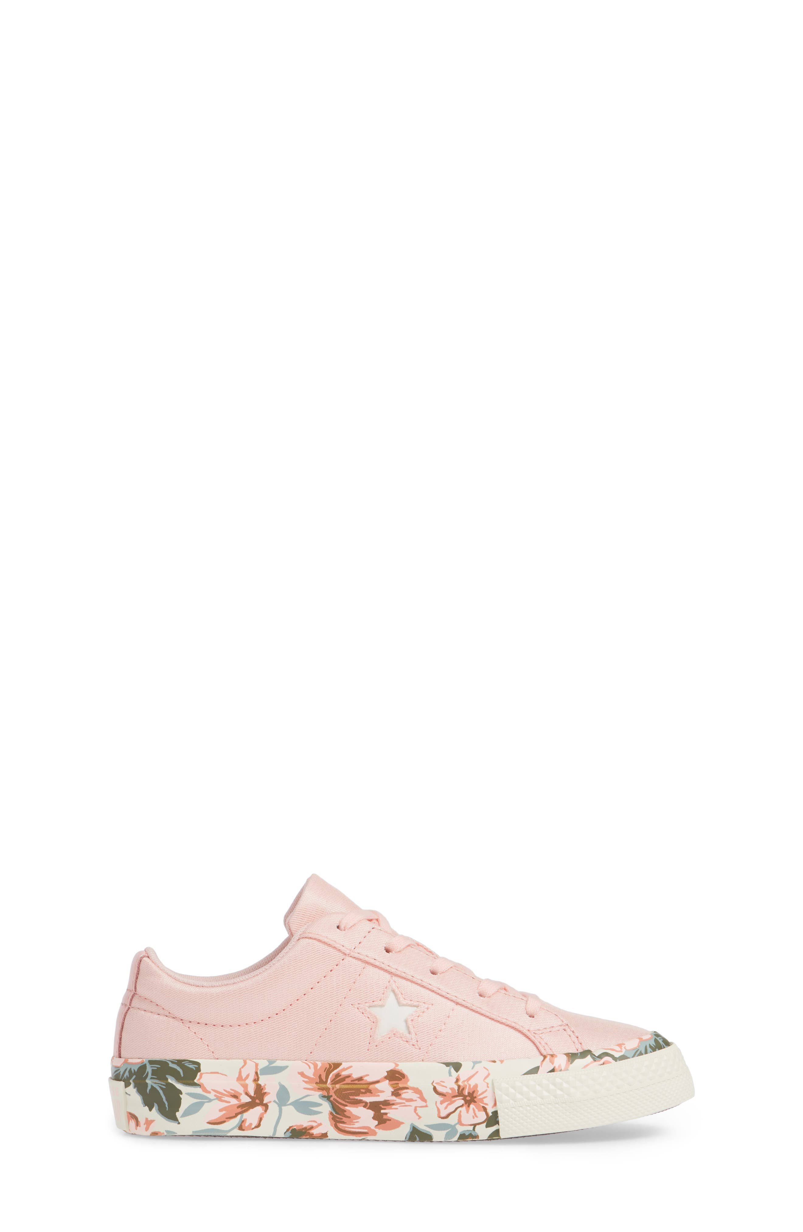 One Star Floral Sneaker,                             Alternate thumbnail 3, color,                             690