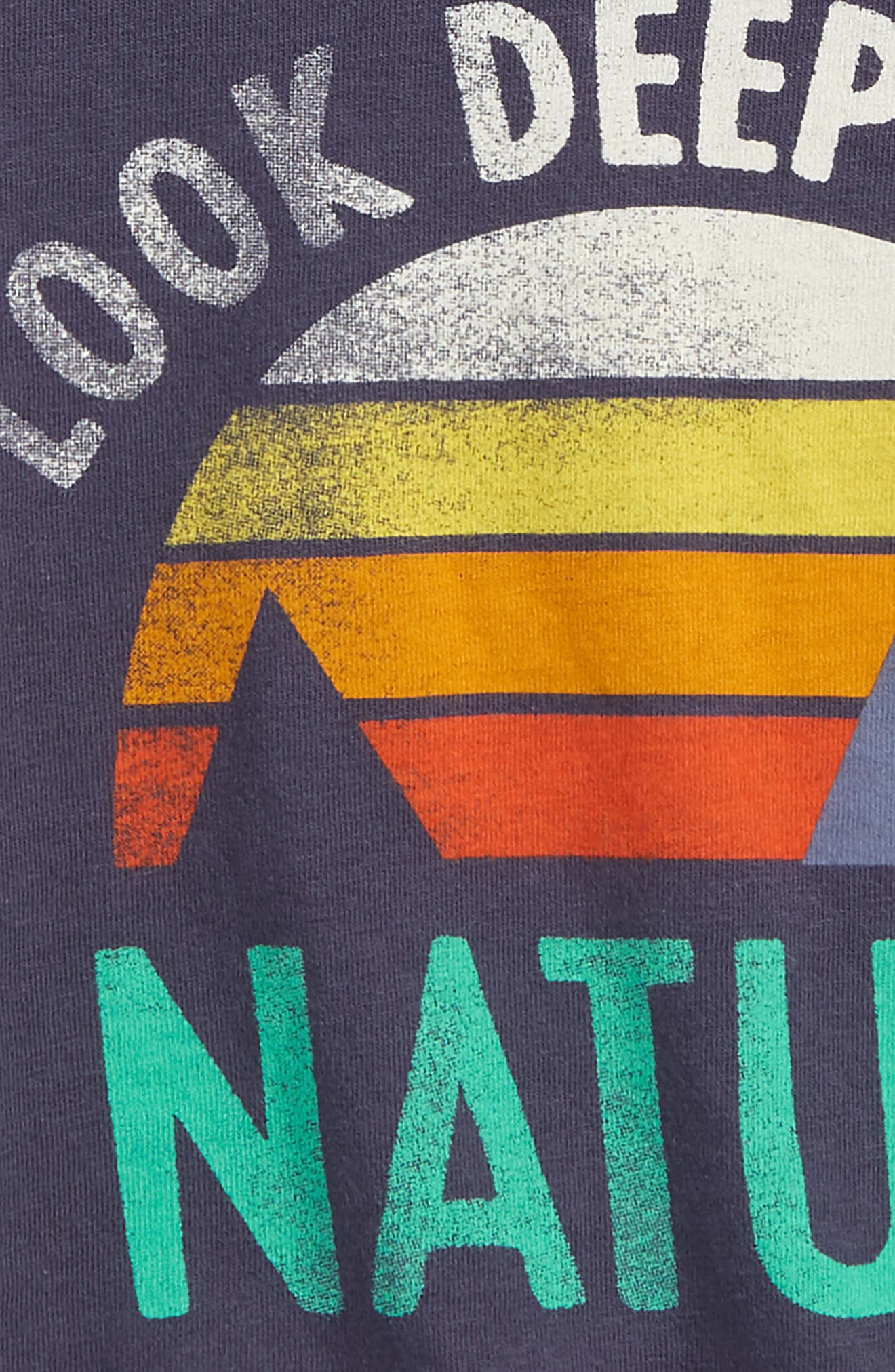 Look Deep into Nature Graphic T-Shirt,                             Alternate thumbnail 3, color,                             410
