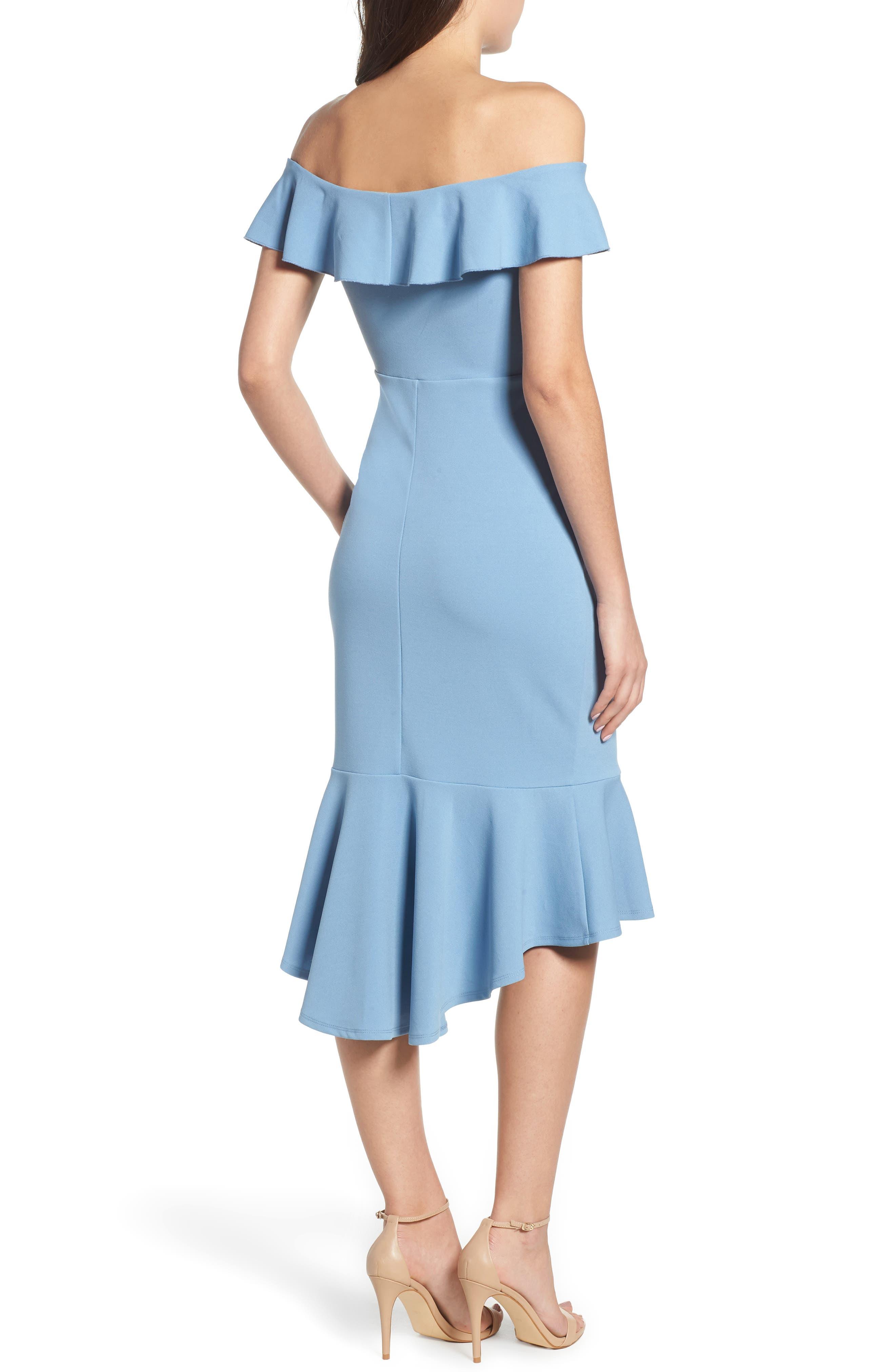 LOVE, NICKIE LEW,                             Sweetheart Midi Dress,                             Alternate thumbnail 2, color,                             400