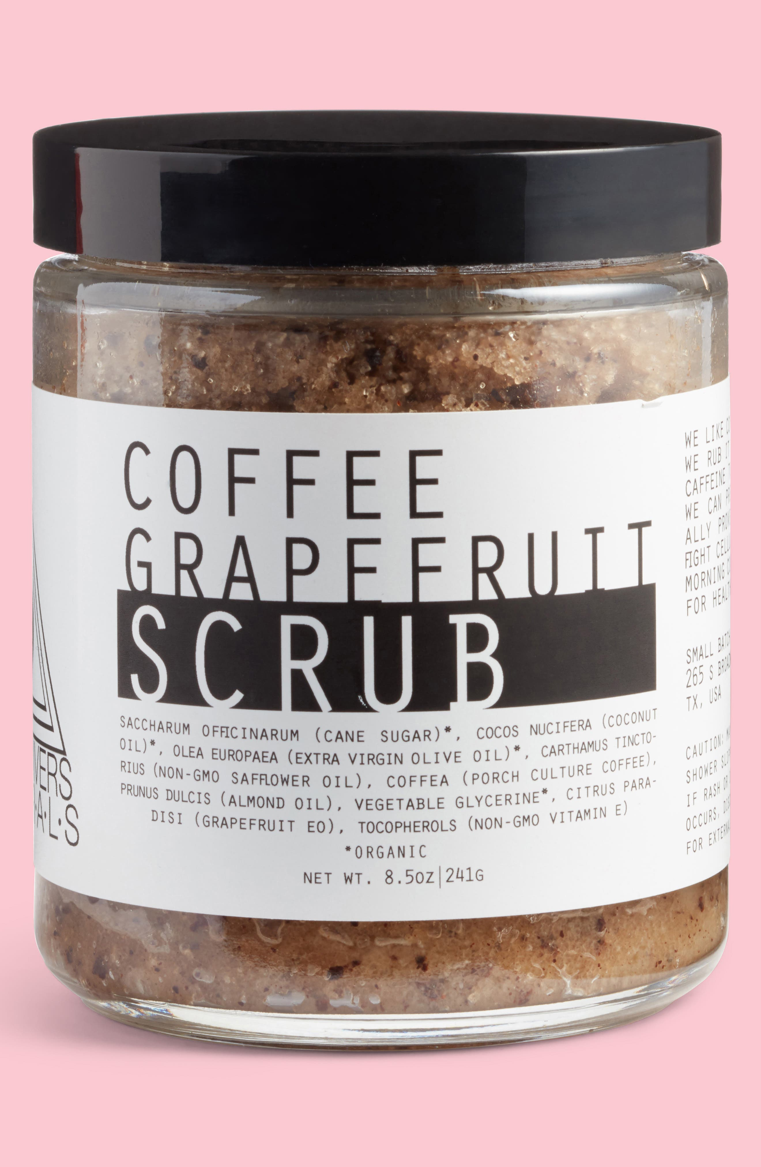 Coffee Grapefruit Scrub,                         Main,                         color, 200