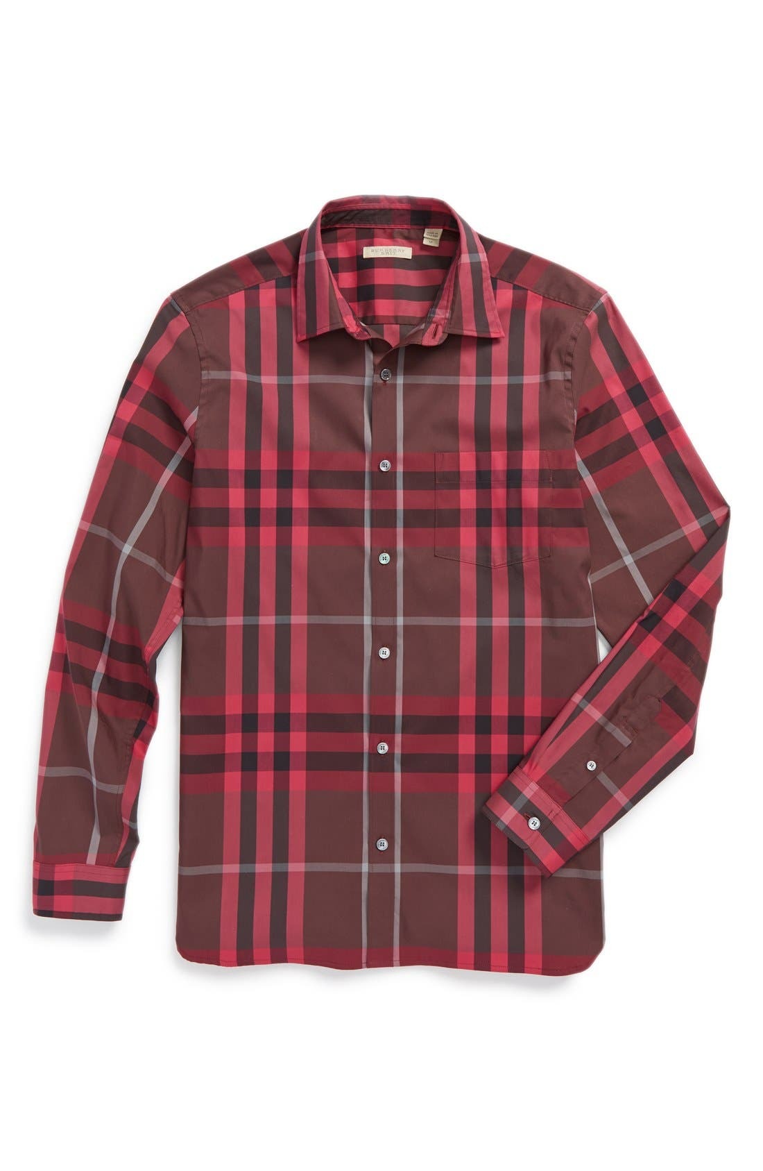 Nelson Check Sport Shirt,                             Alternate thumbnail 96, color,