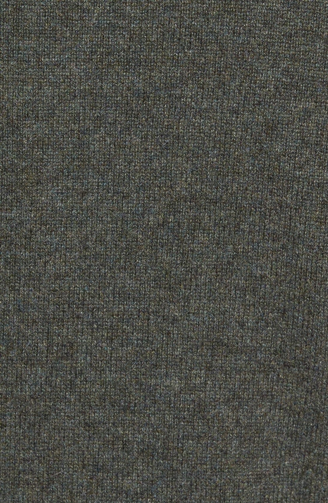 Cashmere Quarter Zip Sweater,                             Alternate thumbnail 37, color,
